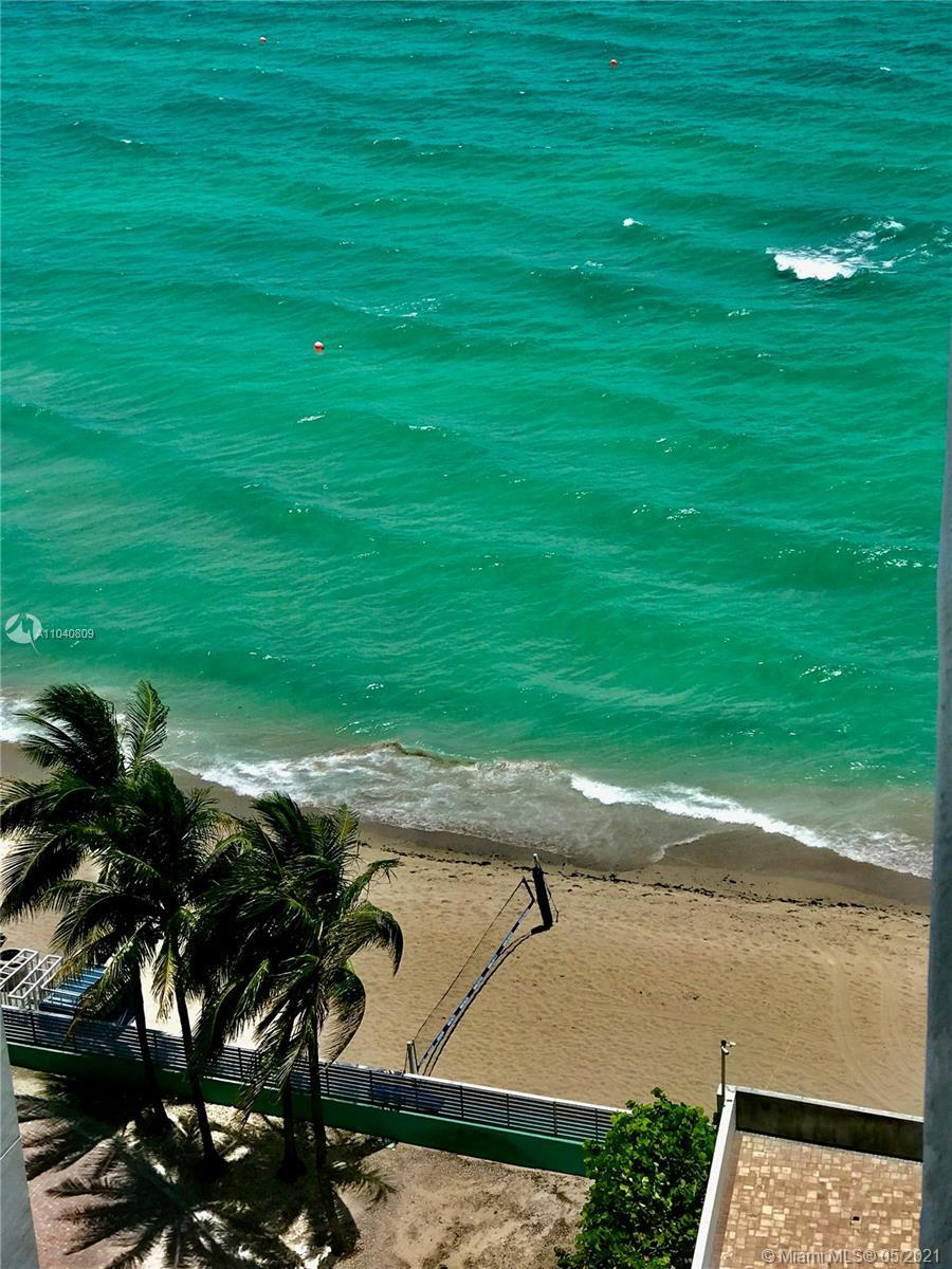 Beautiful 1 Bedroom, 1.5 Bath Oceanfront Condo in the Heart of Hollywood Beach! Easy to convert to T