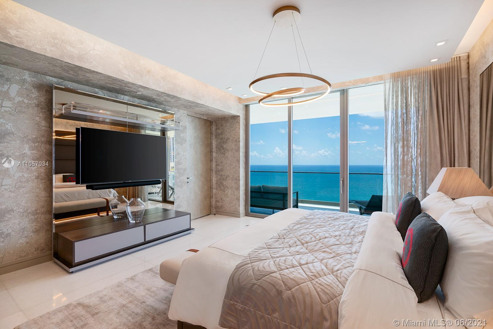 Designed by Giorgio Armani and architect César Pelli, this one-of-a-kind unit at the Residences by A