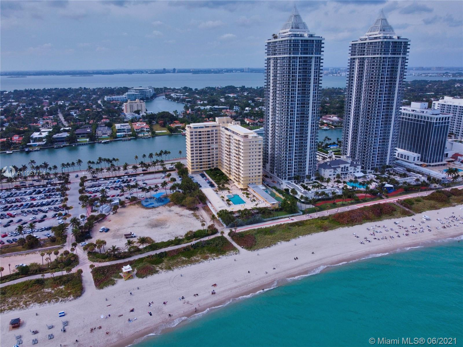 Beautiful apartment 1 bed + den/office legal with permits approved by the City of Miami Beach. Fully