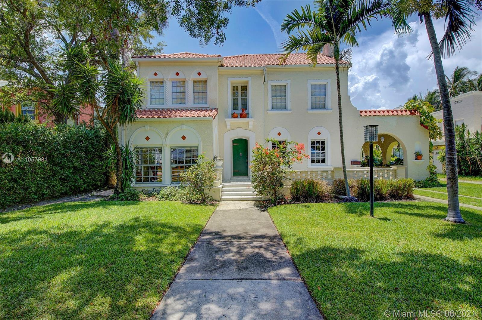 Historic gem of Italian Renaissance inspired architecture nestled on Miami Beach's picturesque Prair