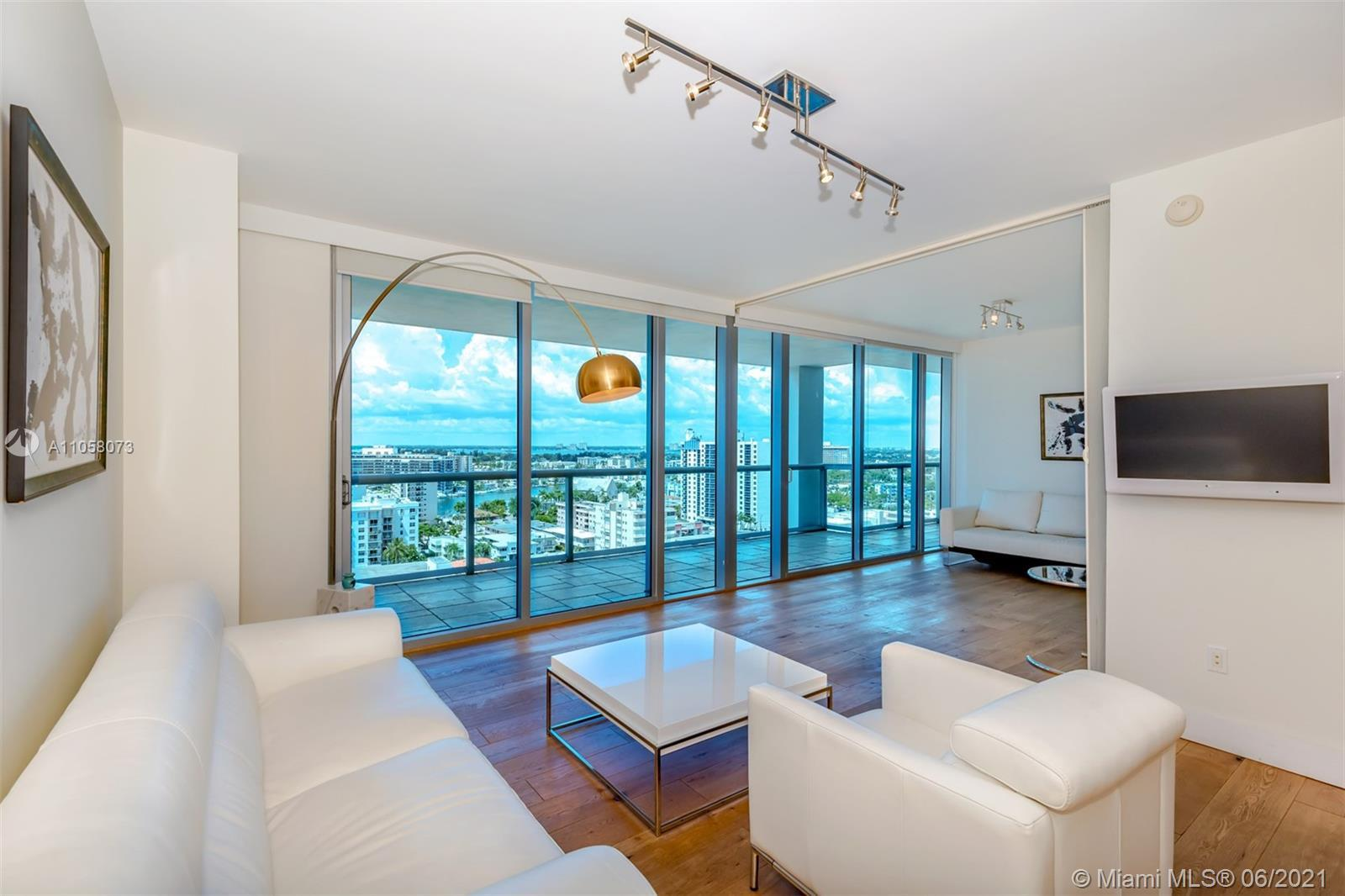 Beautiful 2 bed 2 bath apartment at Carillon Miami Wellness Resort, a premier oceanfront-luxury prop
