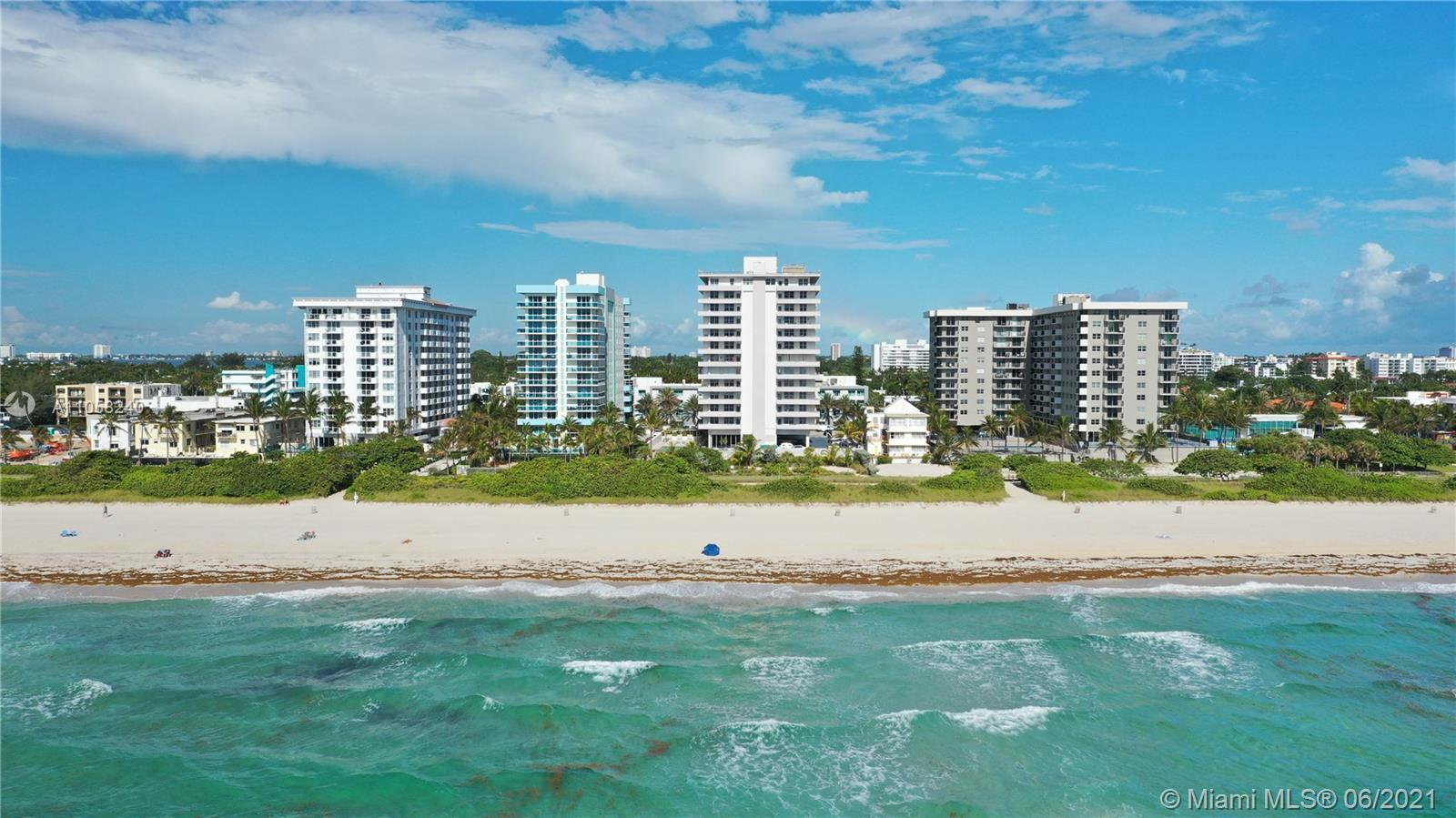 Your opportunity to own a place in the most desirable exclusive Surfside-Bal Harbor area. Beautiful