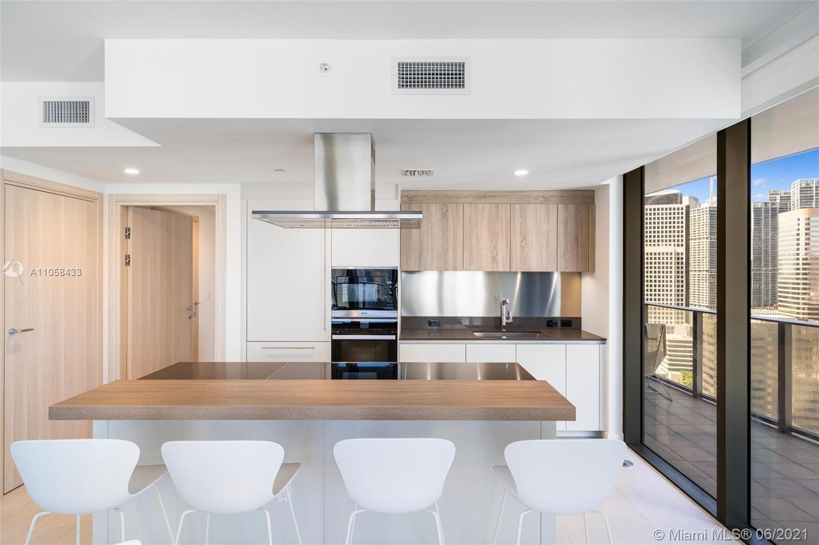 Ugo Colombo' newest luxury condo development Brickell Flatiron; a 64-story glass tower featuring the