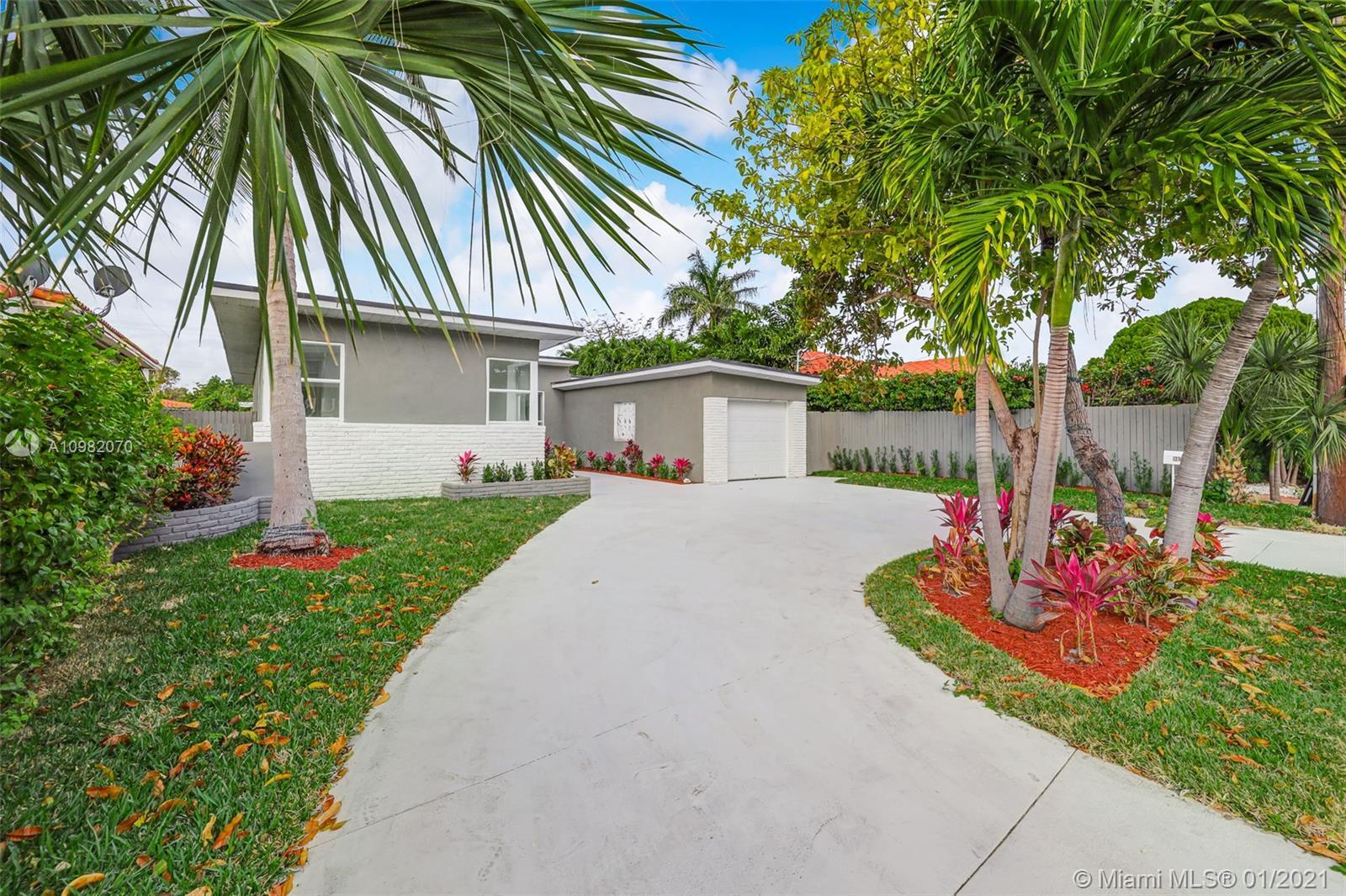 Totally renovated 2BR/2BA + Large Den home only 2 blocks away from Surfside Beach! Brand new modern