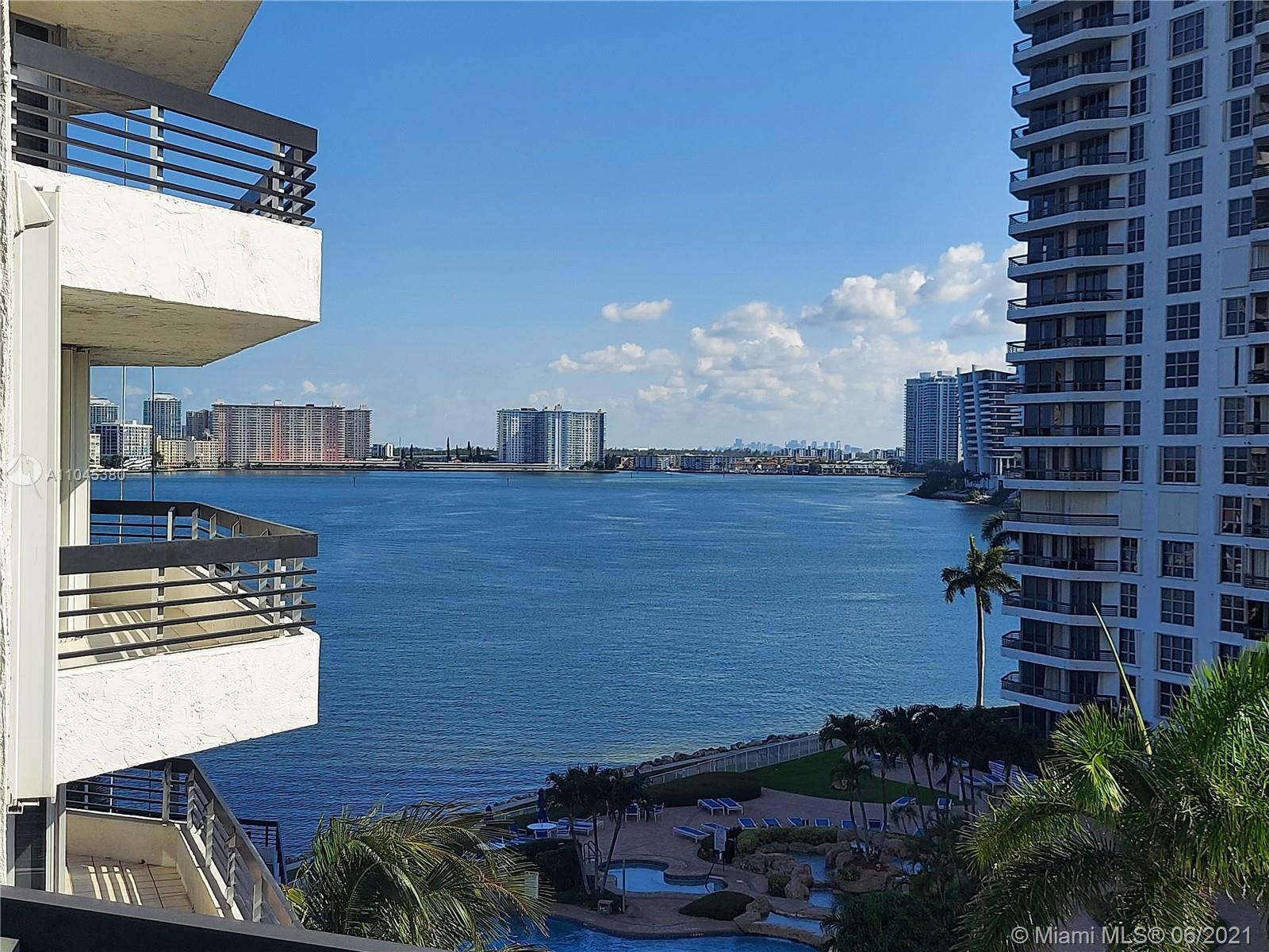 Beautifully remodeled largest 2 bedroom, 2 1/2 baths in prestigious Mystic Pointe with gorgeous view