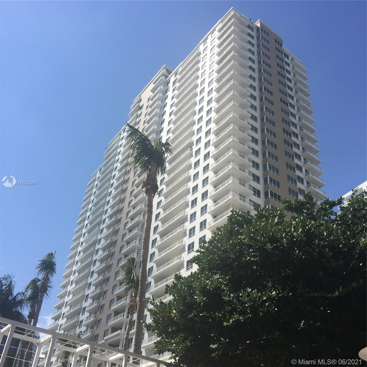 Oasis in the heart of the city, with panoramic view of Biscayne Bay, Rickenbacker Cswy and Port of M