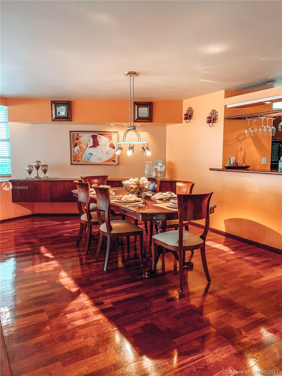 One of a kind apartment unit at the Four Ambassadors Complex, featuring large living room, dining ro