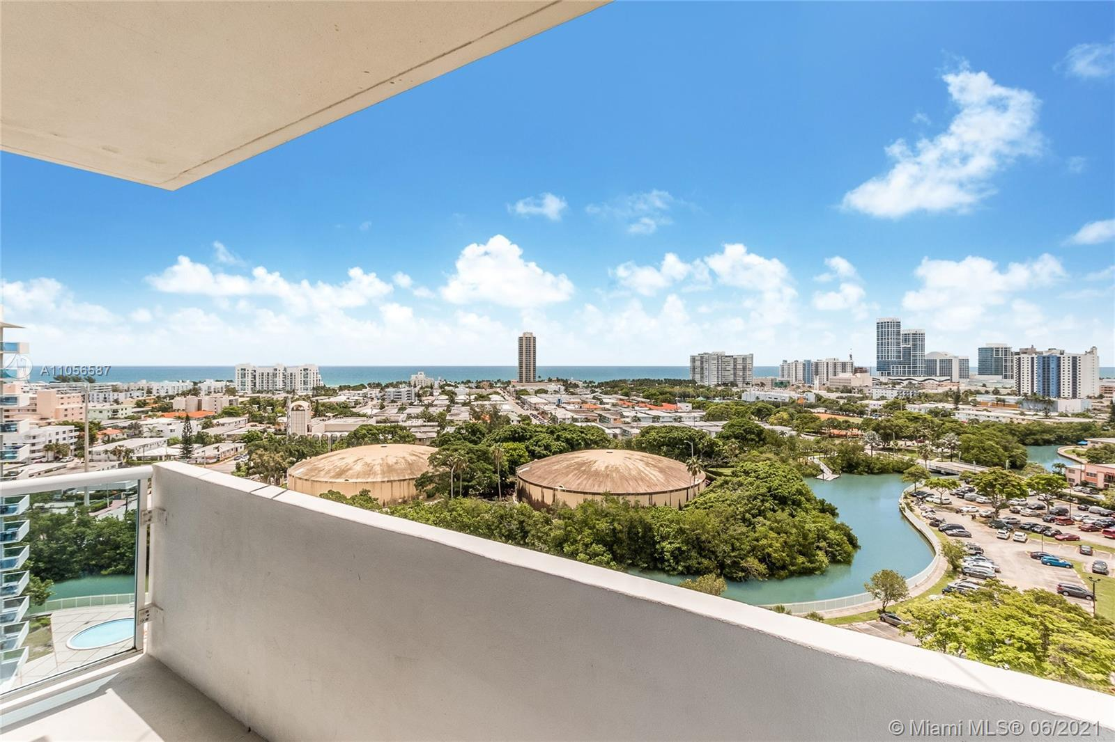 Enjoy an almost complete panoramic view from this tastefully fully renovated 2 bedroom apartment. Ra