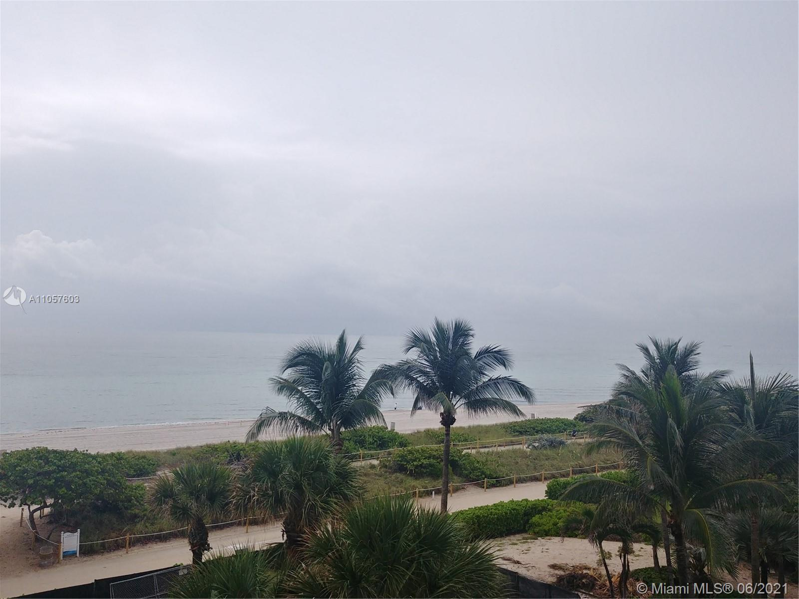 beautiful unit with direct ocean view-Large 2/2 with 1,690 sq ft-full size laundry  room- Unit is in