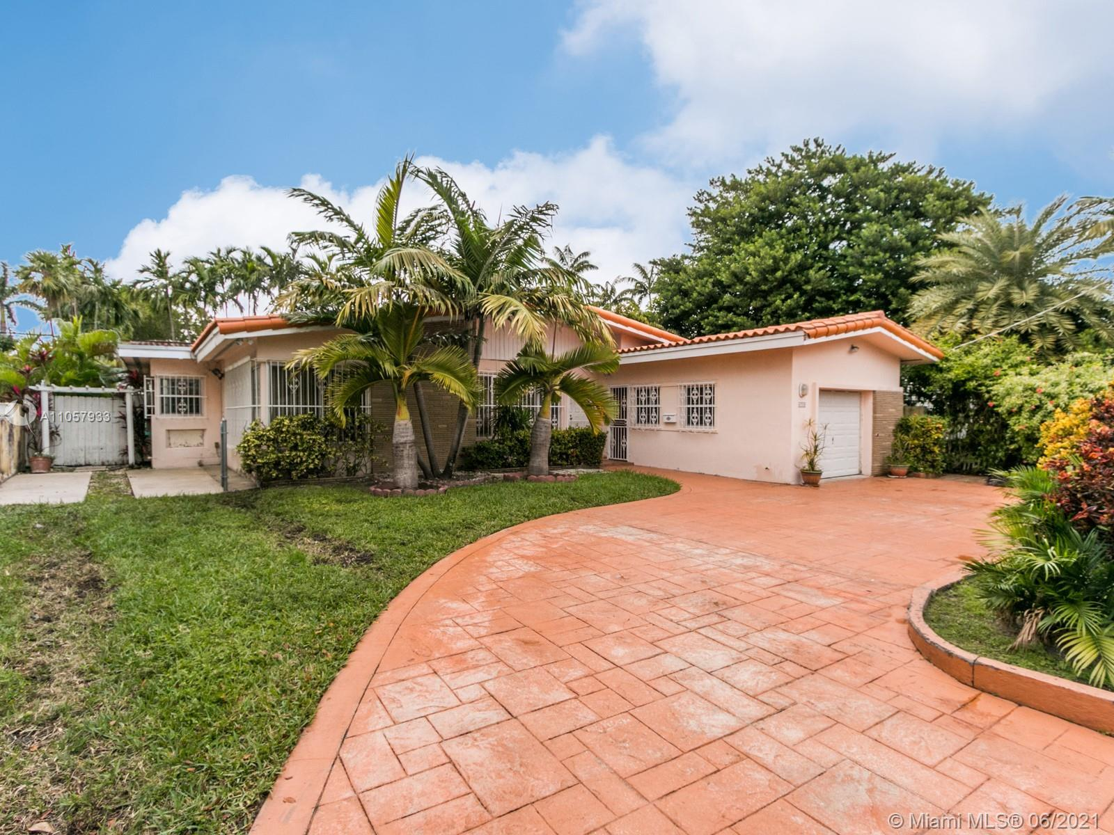 Located in the heart of Miami Beach, this lovely 3 bedroom 2 bath family home has everything you nee