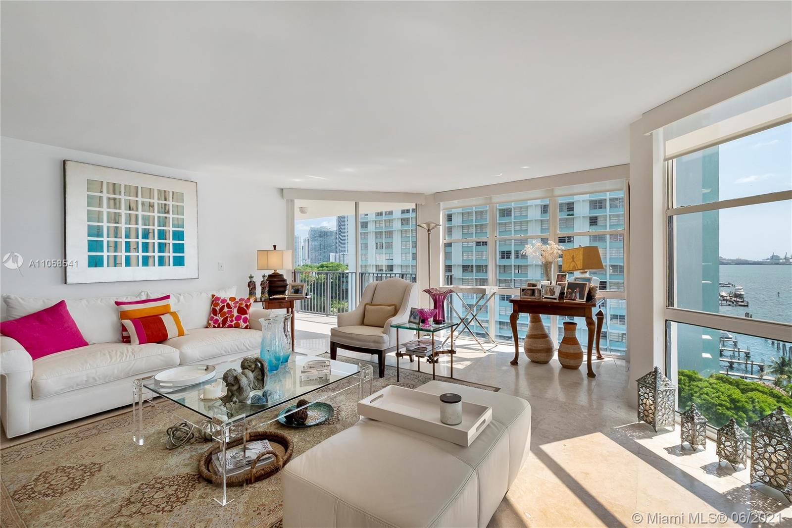 Gorgeous and bright corner unit, best line in the building. All rooms have generous windows allowing