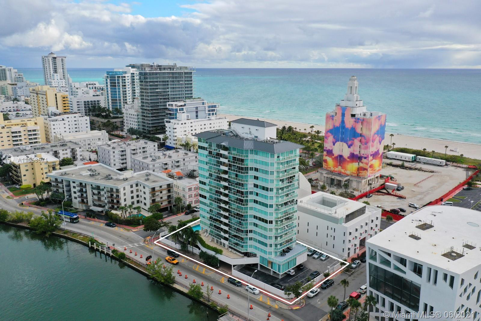 This amazing 2 bedroom unit have both Atlantic Ocean and Intracoastal views. The buildings location