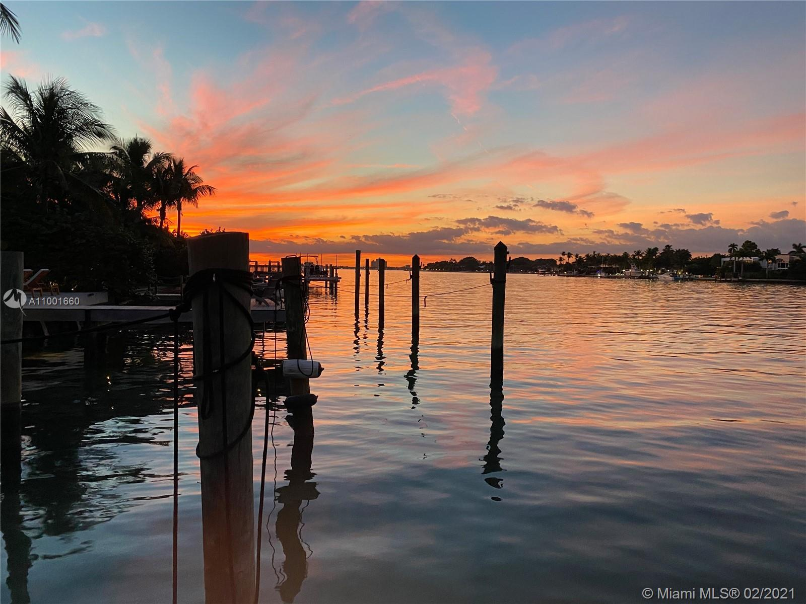 Waterfront with wide bay views. See Indian Creek from your back yard. Excellent redevelopment opport