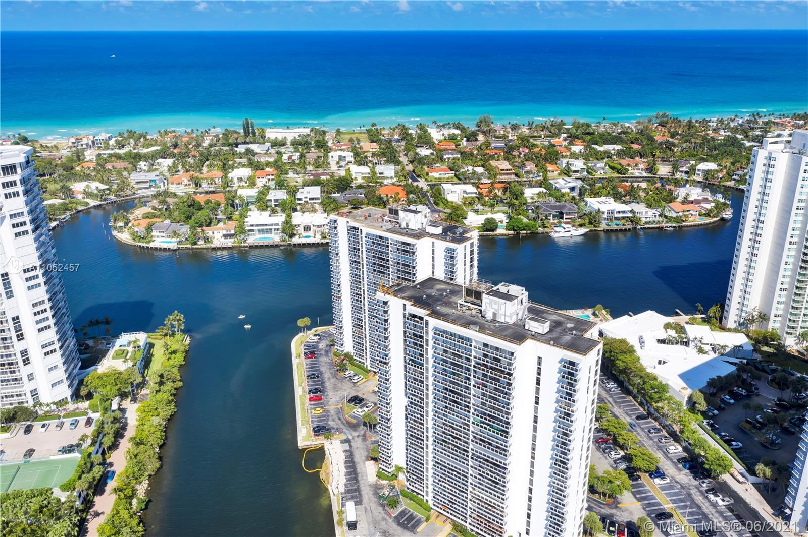 There's a spectacular view from the balcony of this turn-key condo located in beautiful Aventura. En