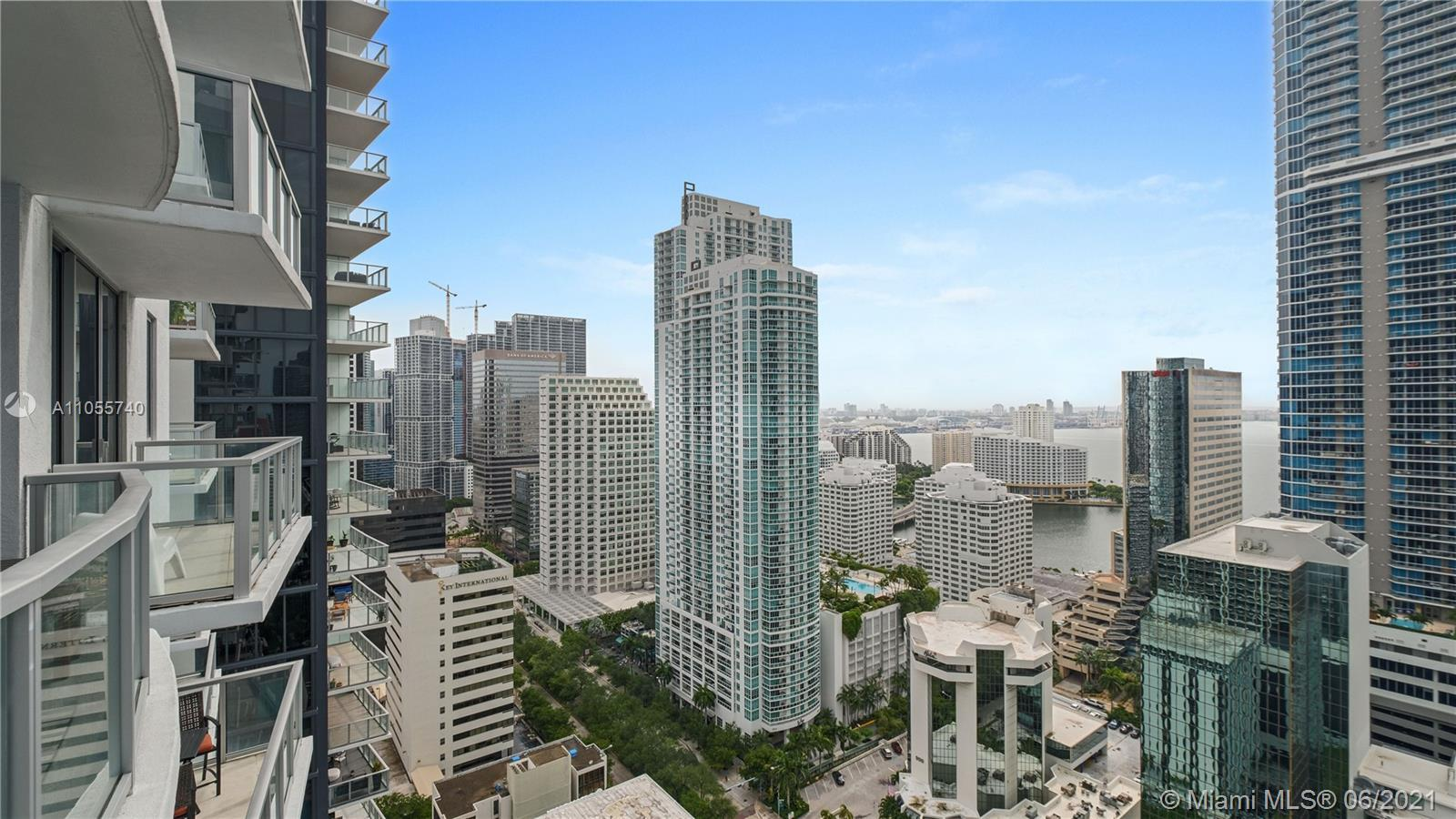 Location, Location, Location!  This condo is in the epicenter of Brickell - walking distance (steps)