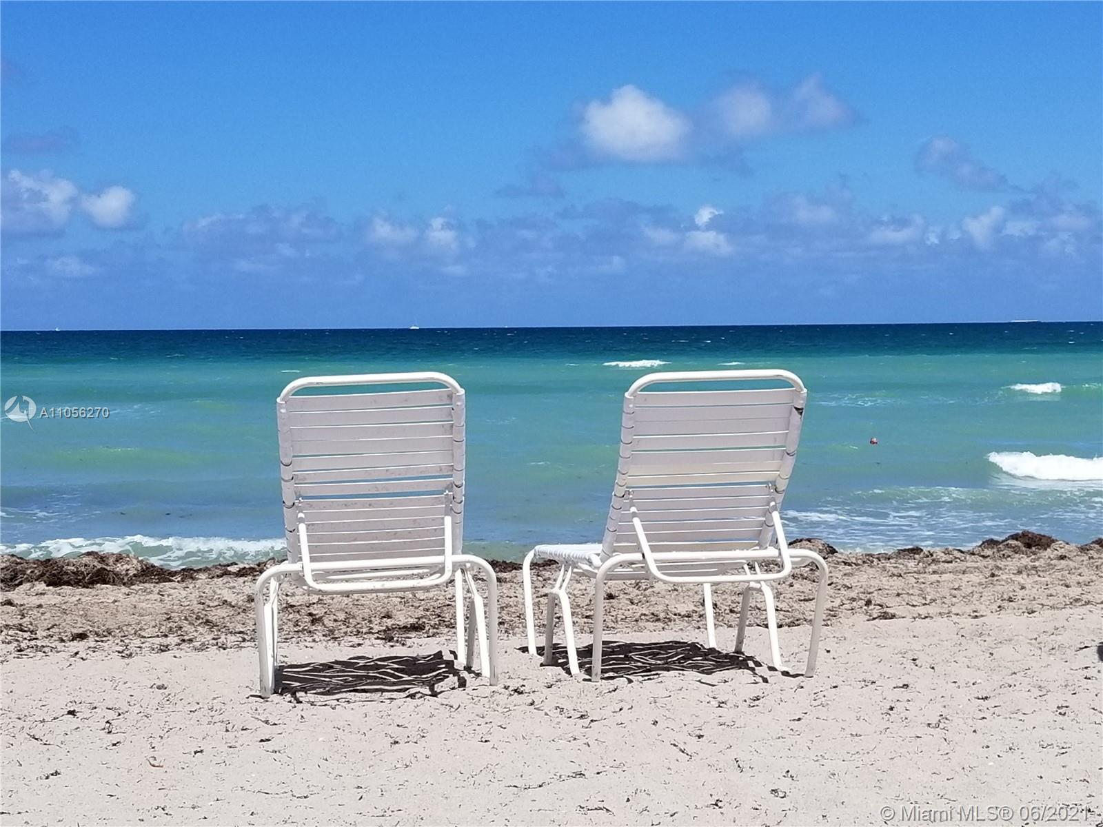 EXPERIENCE THE GROWTH OF EXCLUSIVE HALLANDALE BEACH LIFESTYLE IN THIS PLUS+SIZED  1BDRM/1BATH BEACH