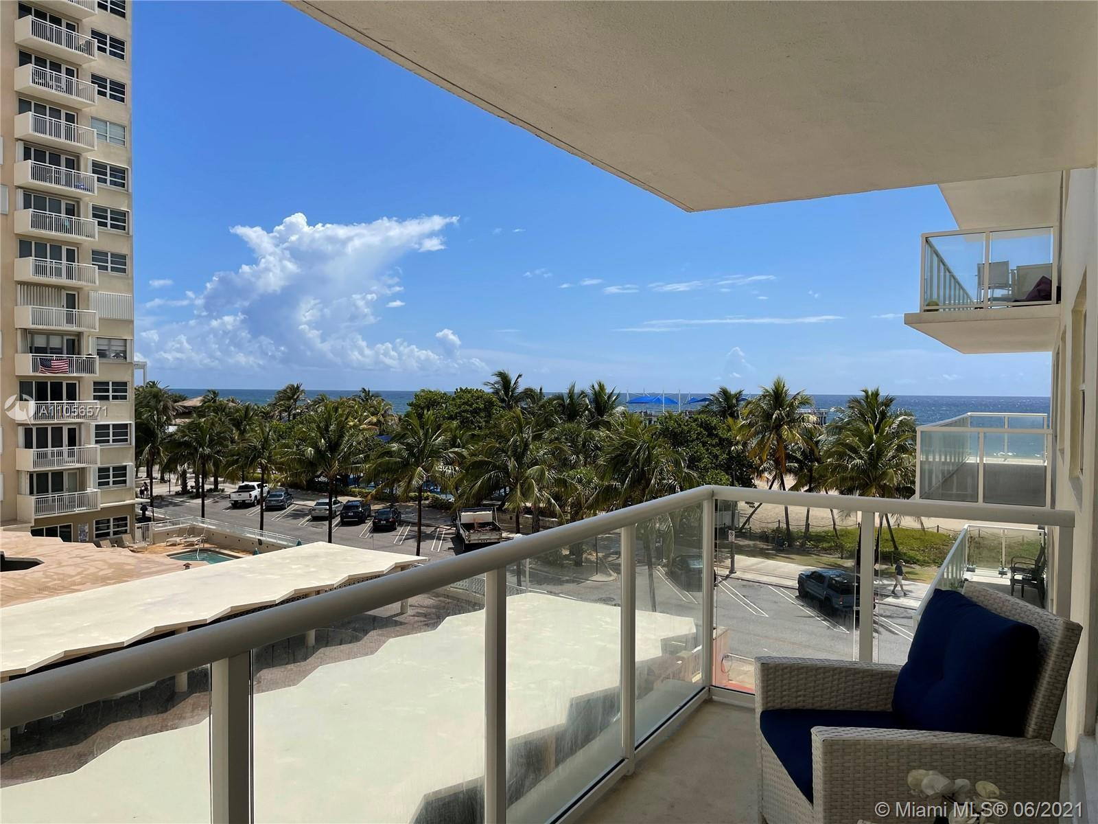 """AMAZING VIEWS FROM THIS UNIT, IN ONE OF THE BEST BUILDINGS IN THE POMPANO BEACH AREA """" SEA MONARCH"""","""