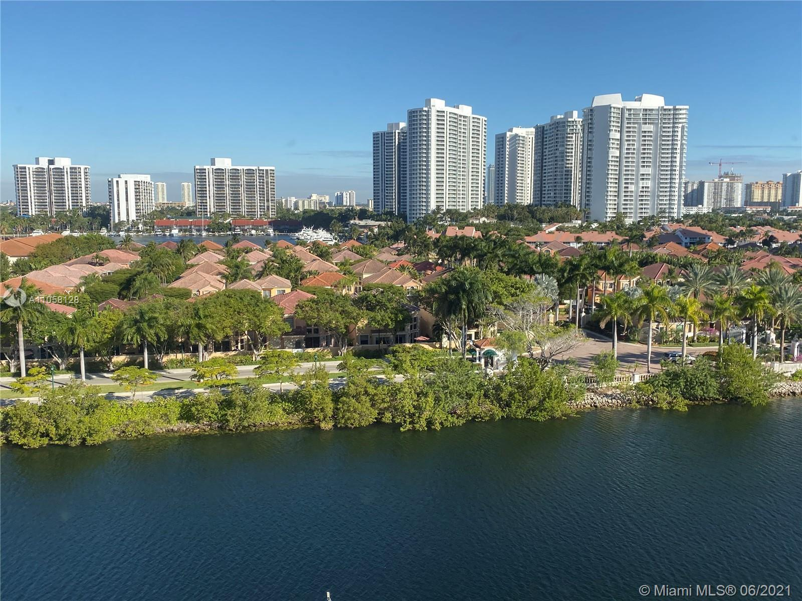 Live in the city of Aventura / across from the beautiful 3-mile walking and bike path loop around th