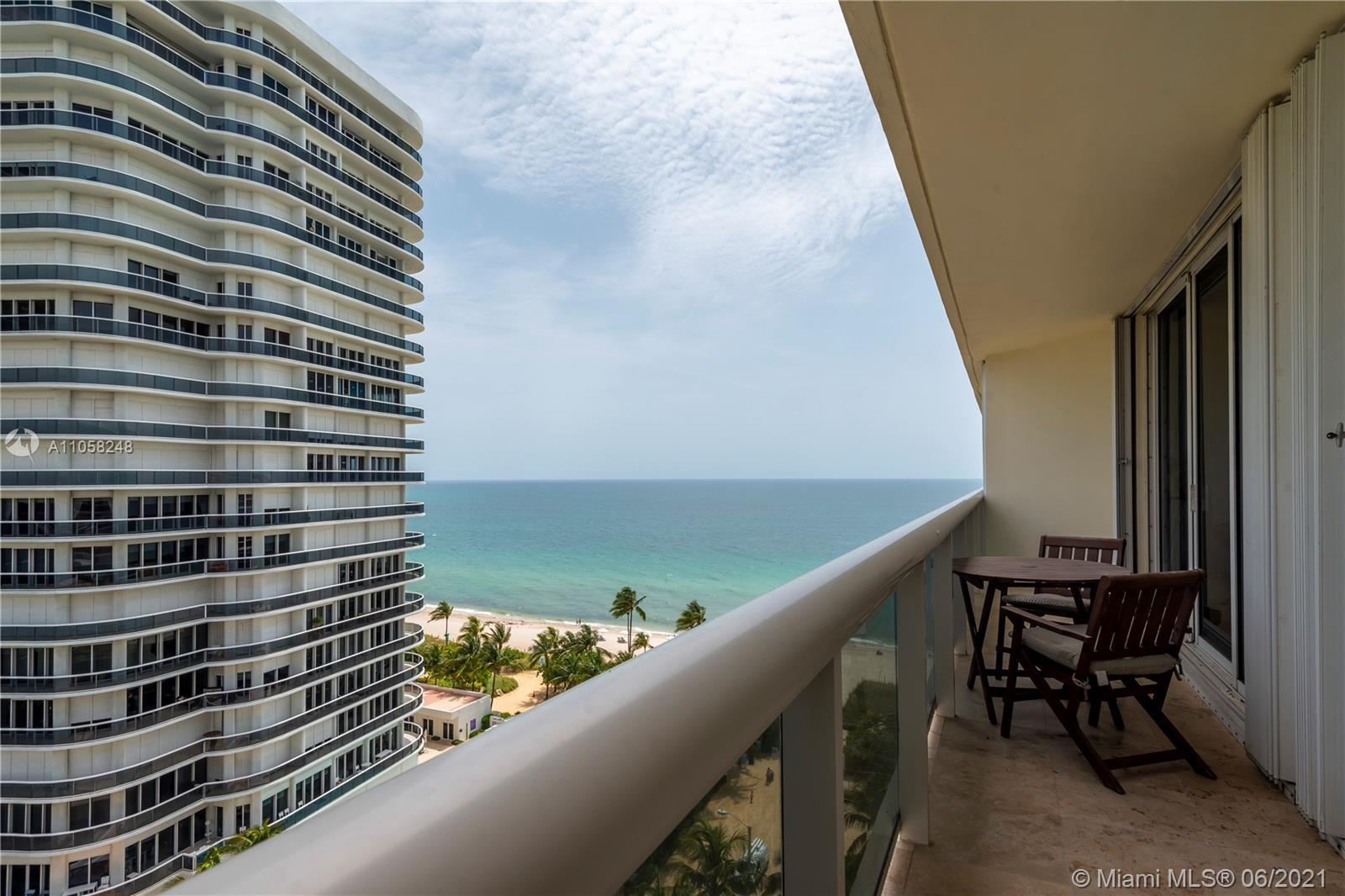 THERE'S NO BETTER LOCATION TO ENJOY THE SEA AND CITY LIFE OF SURFSIDE AND BAL HARBOUR. A FULLY FURNI