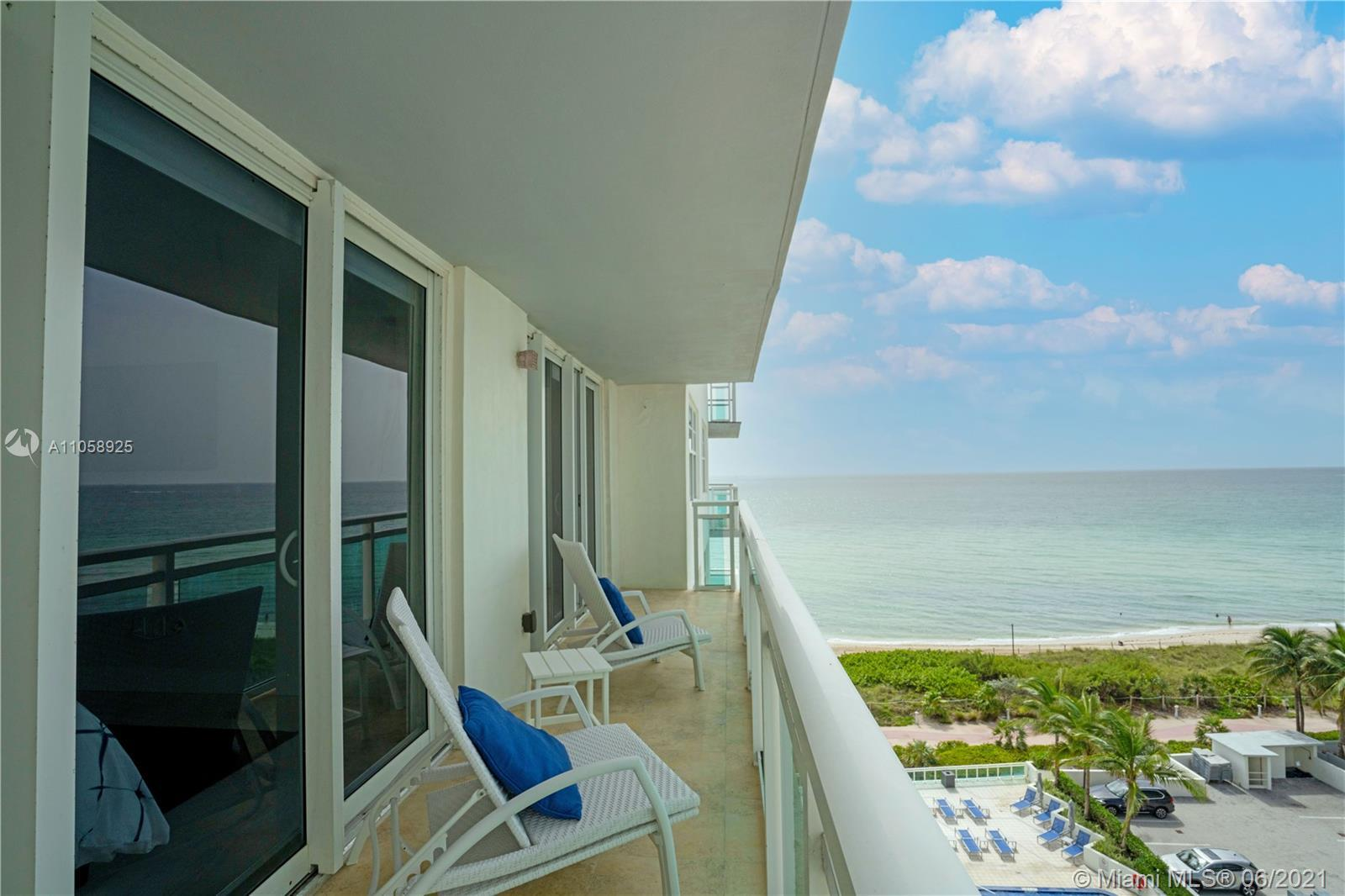 Your dream beach-front condo is finally here! This renovated two-bed/two-bath home with beach views