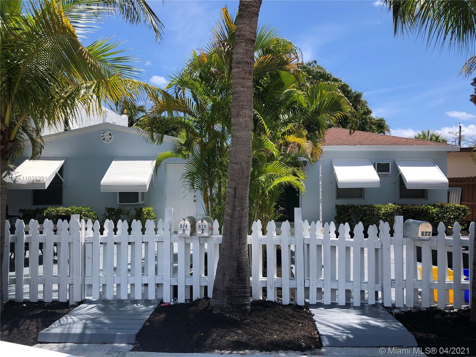 LAKE WORTH BEACH investment opportunity! 2 folios being sold together with 3 rental units consisting