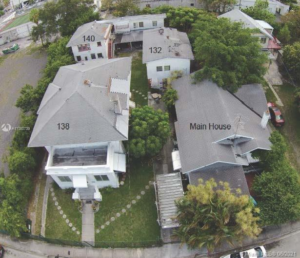 Edgewater development opportunity! Currently used as multi-family and single-family property with a