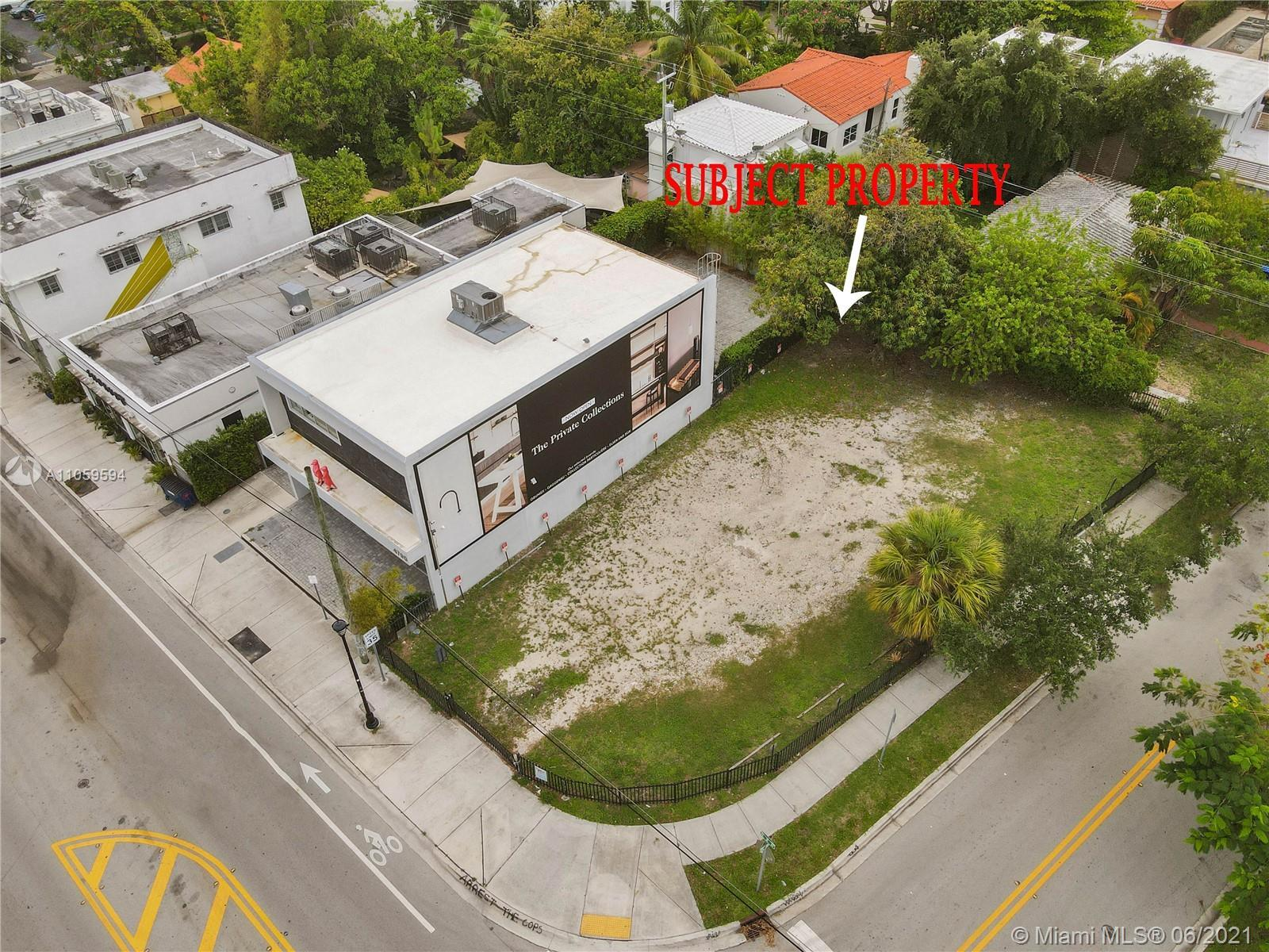 LAST VACANT COMMERCIAL/ RESIDENTIAL LOT ( corner ) ON NE 2avenue. High commuter traffic. Other vacan