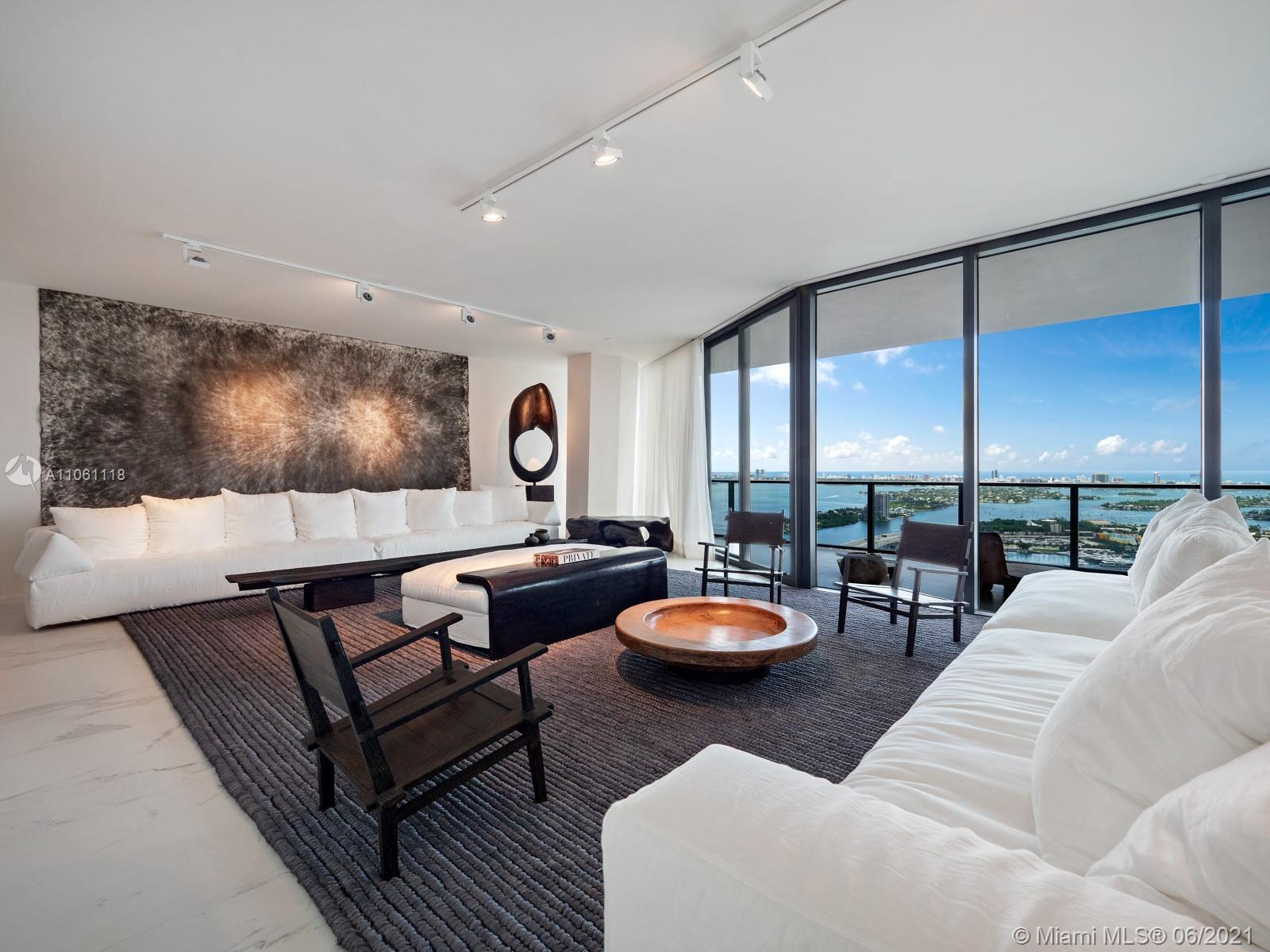 A true design inside Miami's most exclusive residential tower - One Thousand Museum Residence 4401 i