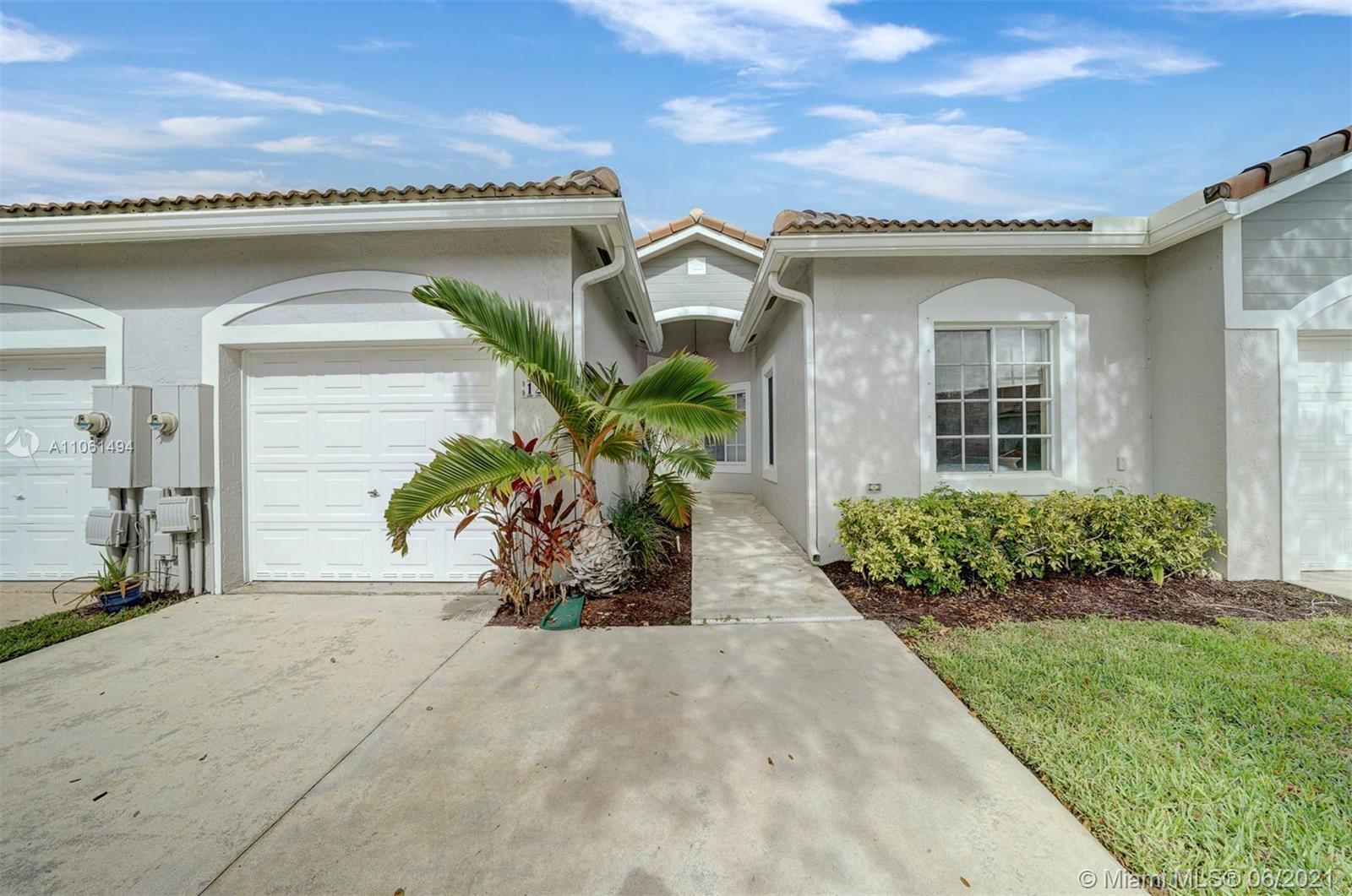 Located in the desirable Waterways community, this spacious 3 Bedroom, 2 Bath Villa is conveniently