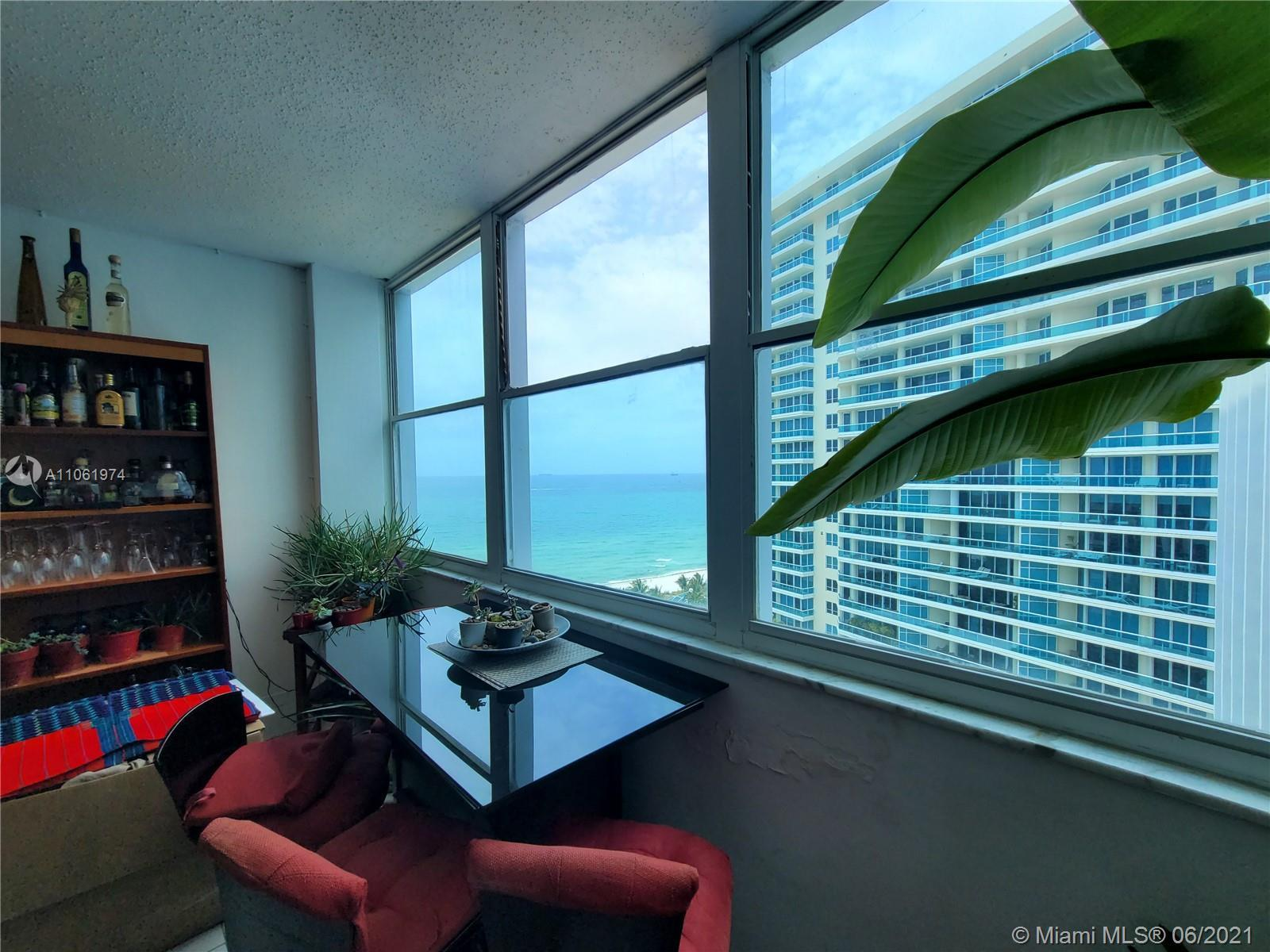 Penthouse unit available in beautiful Crystal House on Millionaire's Row directly on ocean side of C