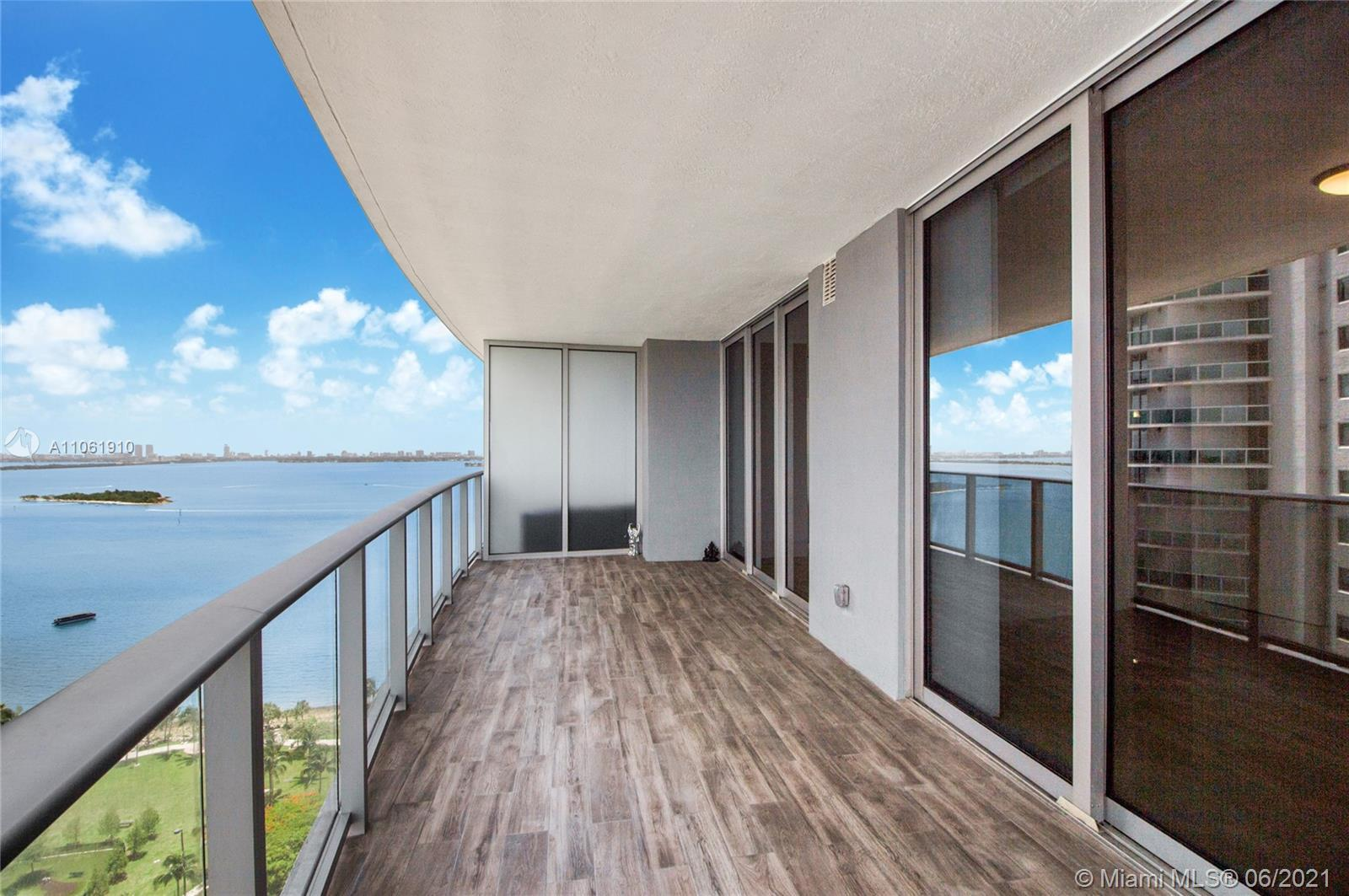 Gorgeous Bay and City views from this new luxury residence at Aria on the Bay in Edgewater. Spacious