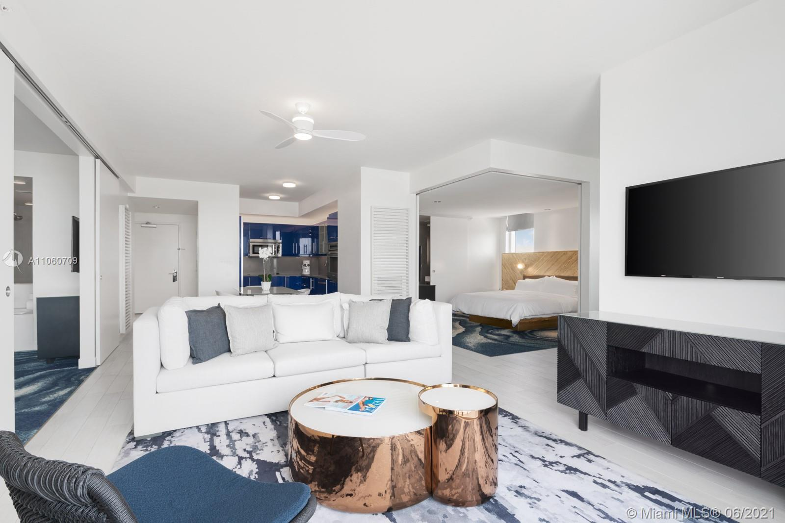 Oceanfront luxury living at its finest. Fully furnished, 2-bedroom/2-bathroom South East corner resi