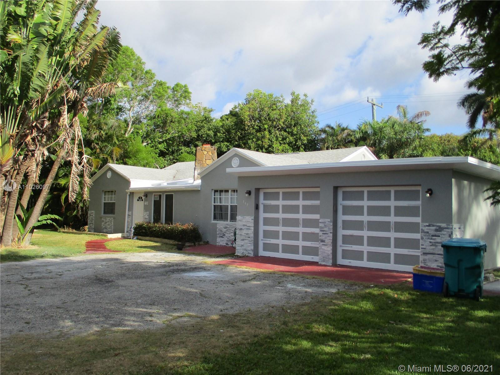 dream home four doors from intracoastal on rare double lot .