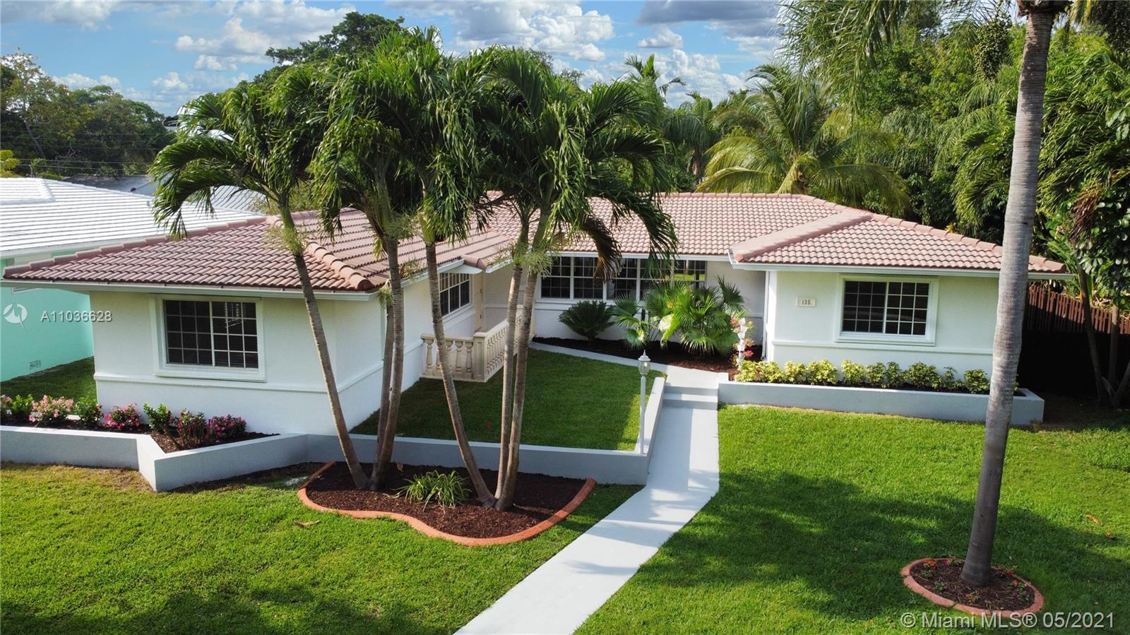 Welcome to this well maintained Miami Shores Home! It has an oversize lot with 3 beds, 2 baths, plus