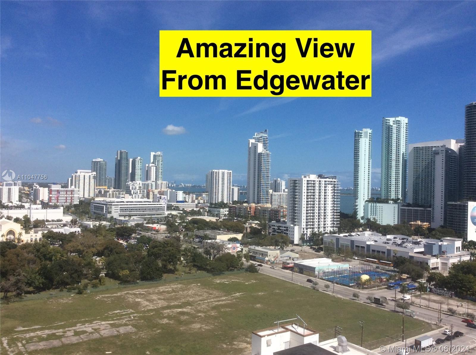 SPACIOUS STUDIO AT  CONDOMINIUM IN DOWNTOWN . WALKING DISTANCE TO WYNWOOD AND MIAMI DESIGN DISTRICT.