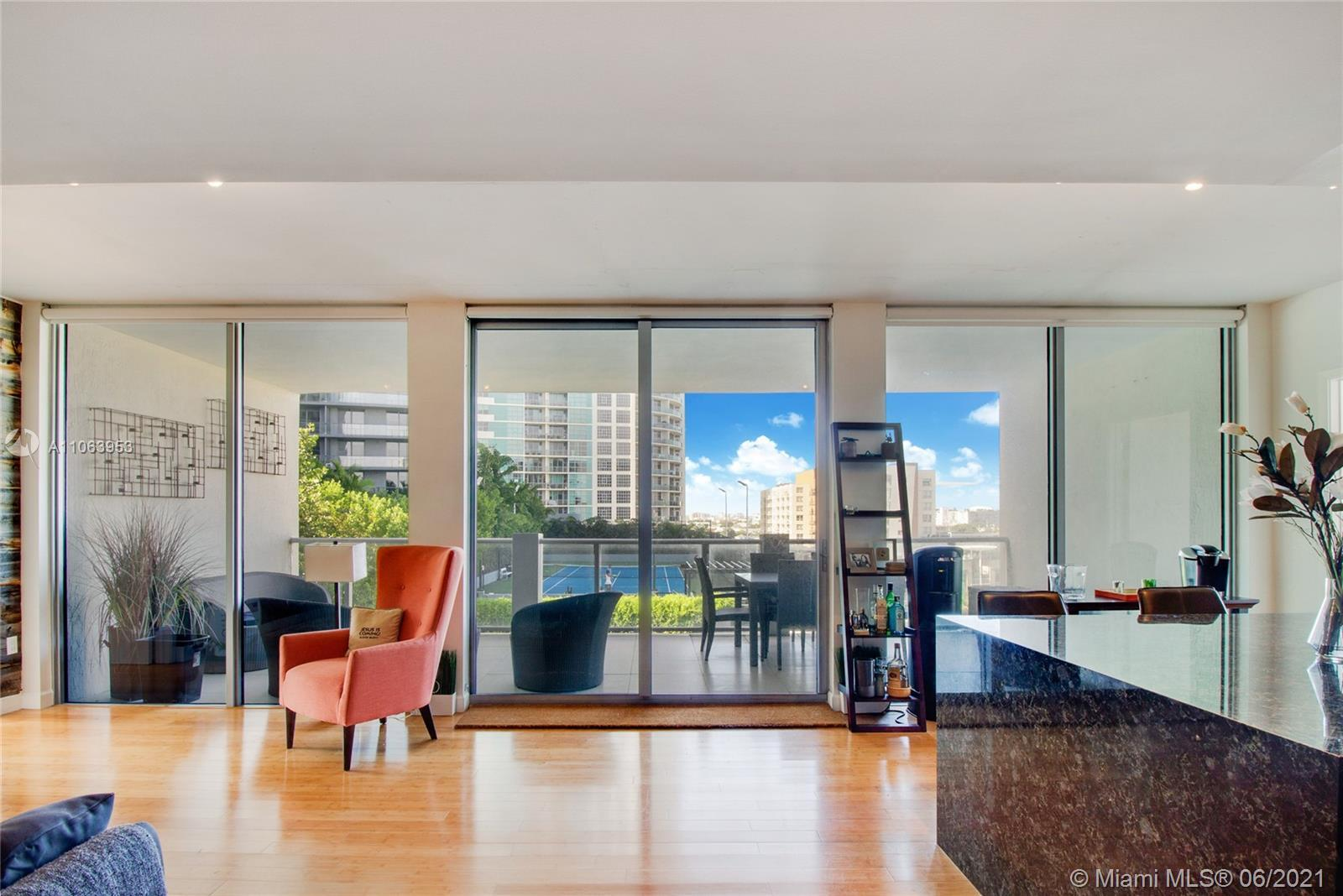 A truly incomparable, furnished, turn-key modern condo in Midtown. This one-of-a-kind end-unit offer