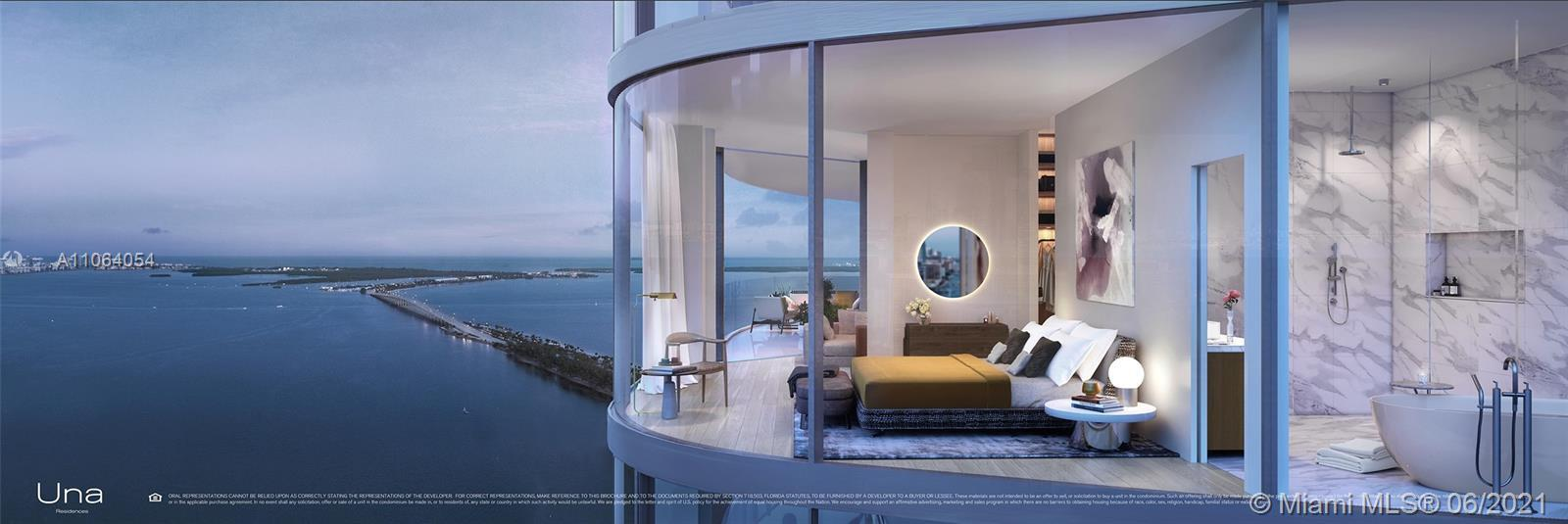 UNA's 135 luxury residences set the standard for Brickell waterfront living with visionary design, i
