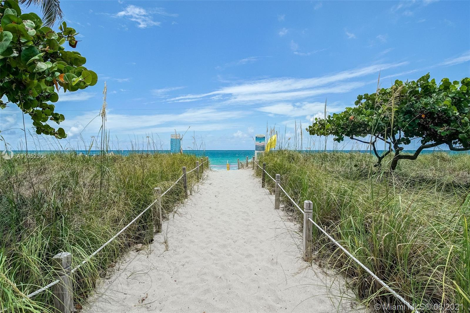 Do not miss the chance to own oceanfront in highly desirable Bal Harbour. Enjoy a beautiful ocean vi