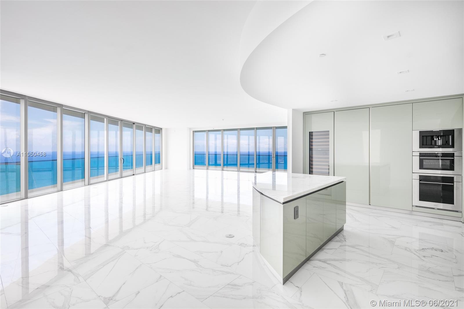 """Highest Floor Available in the Best Line """"00"""" at Residences at Armani Casa. Residence #5100, finishe"""