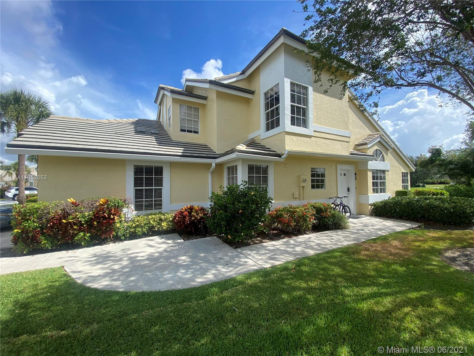 This remodeled two story Villa has beautiful Golf and Lake Views located in Atlantic National @Lucun