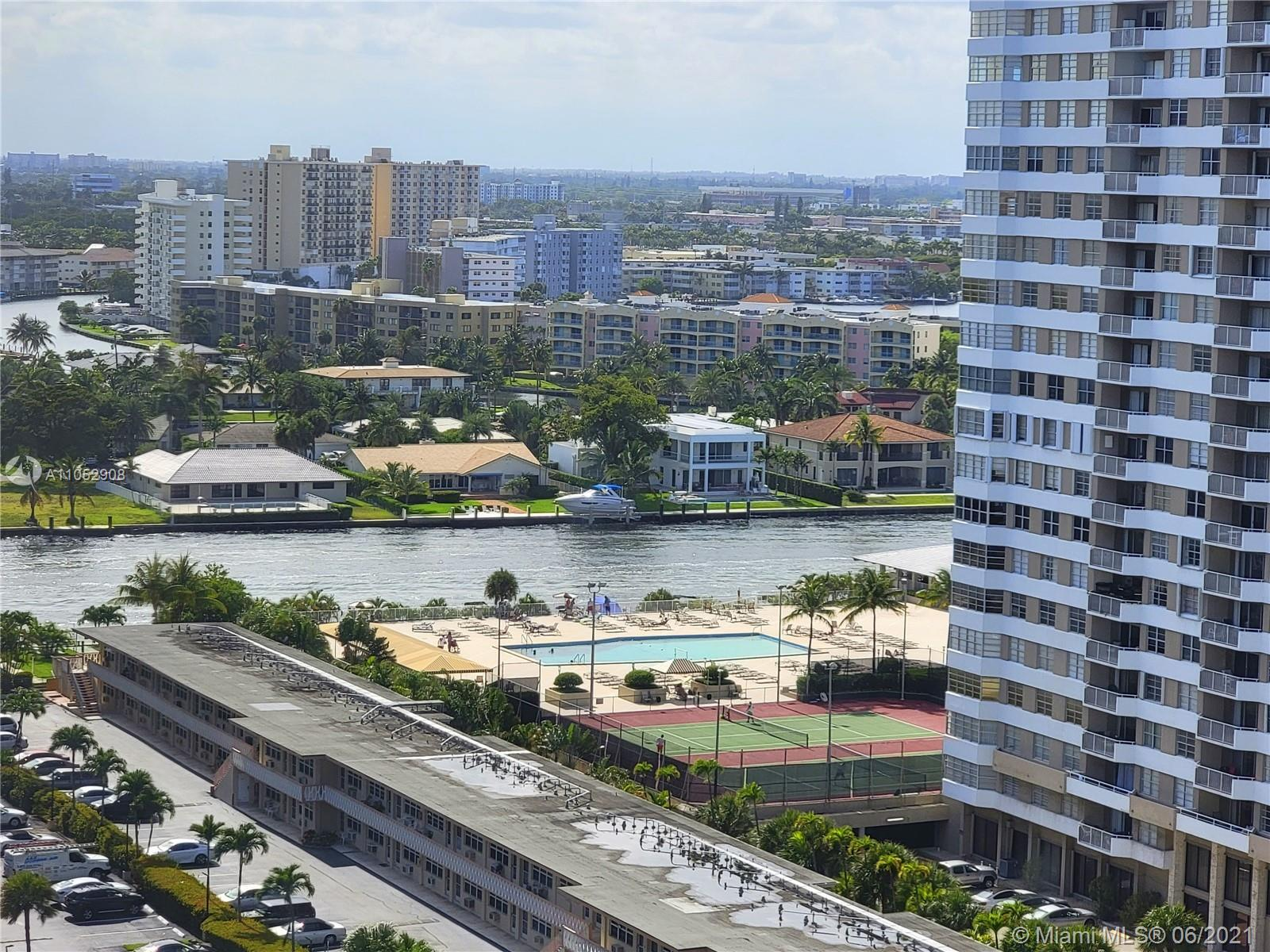 OCEANFRONT WITH INTRACOASTAL & CITY VIEWS, RENOVATOR READY  ~~ LOWEST PRICED 2  BEDROOM 2 BATH ~ Own