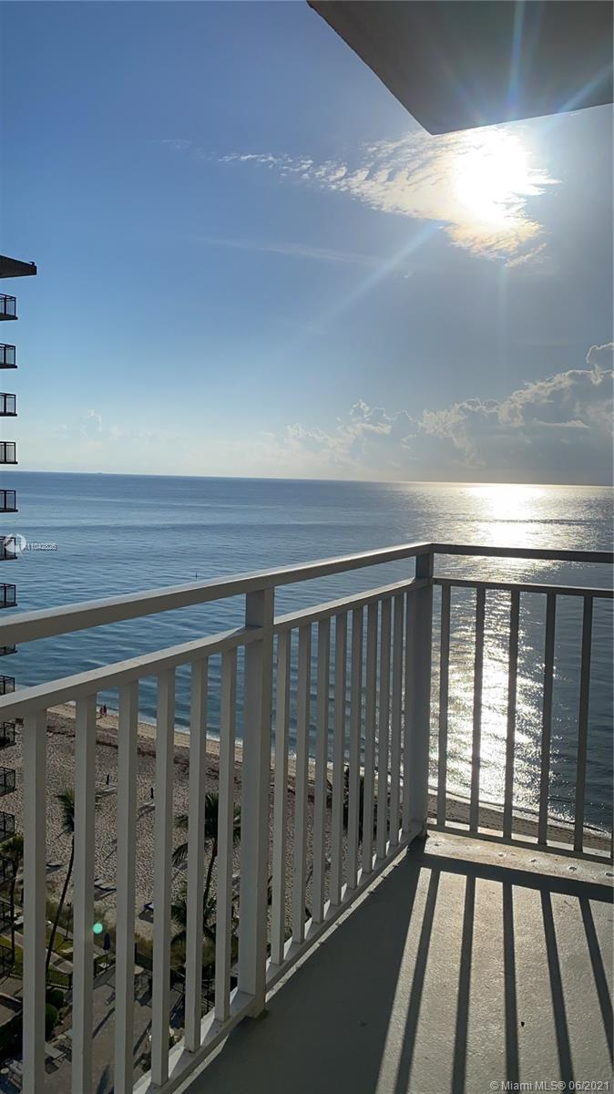Amazing Full remodel unit on the beach. 2/2 with 1580 sq ft. Gorgeous ocean view from 12 th floor, o