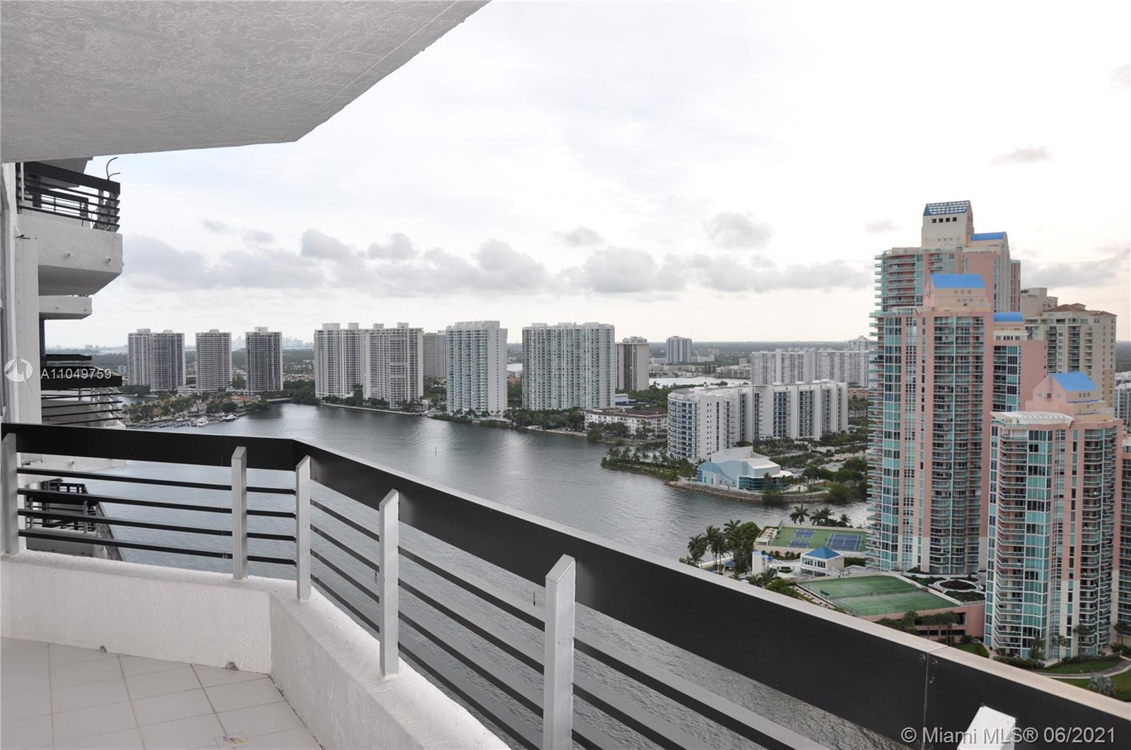 Amazing Views from this well maintained unit. Marble counter top and tile floors.