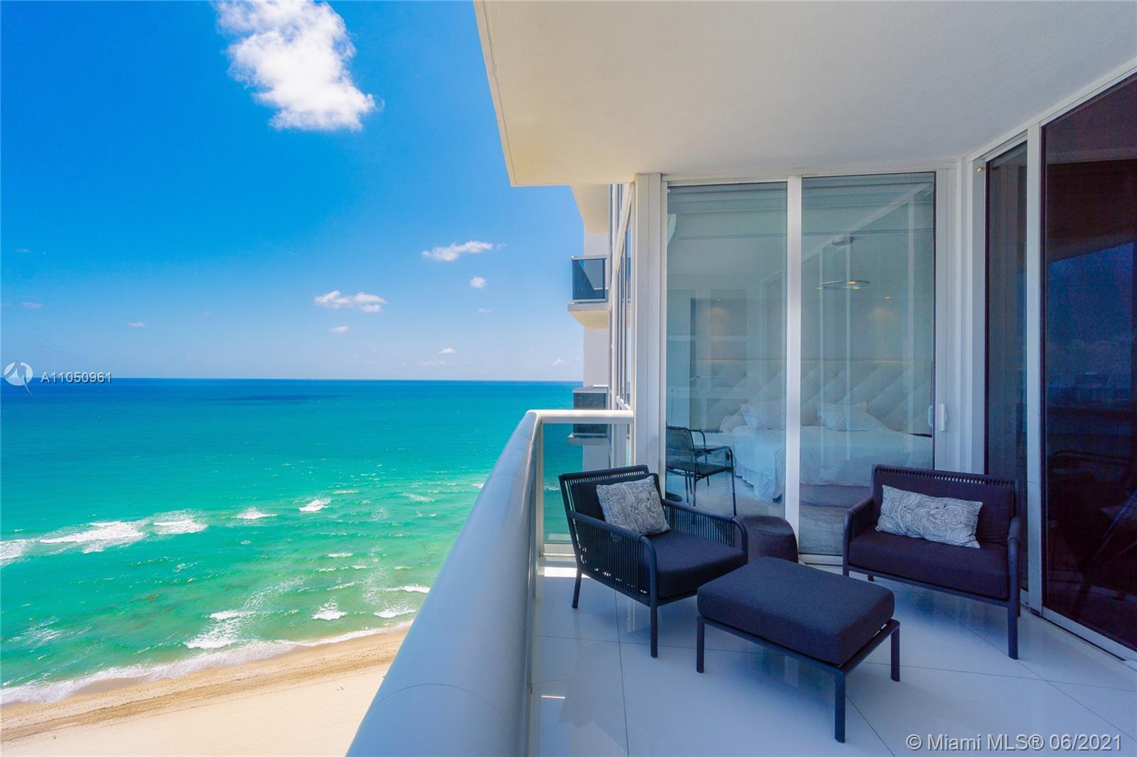 Step in from your private elevator entry to this extraordinary direct ocean residence with panoramic