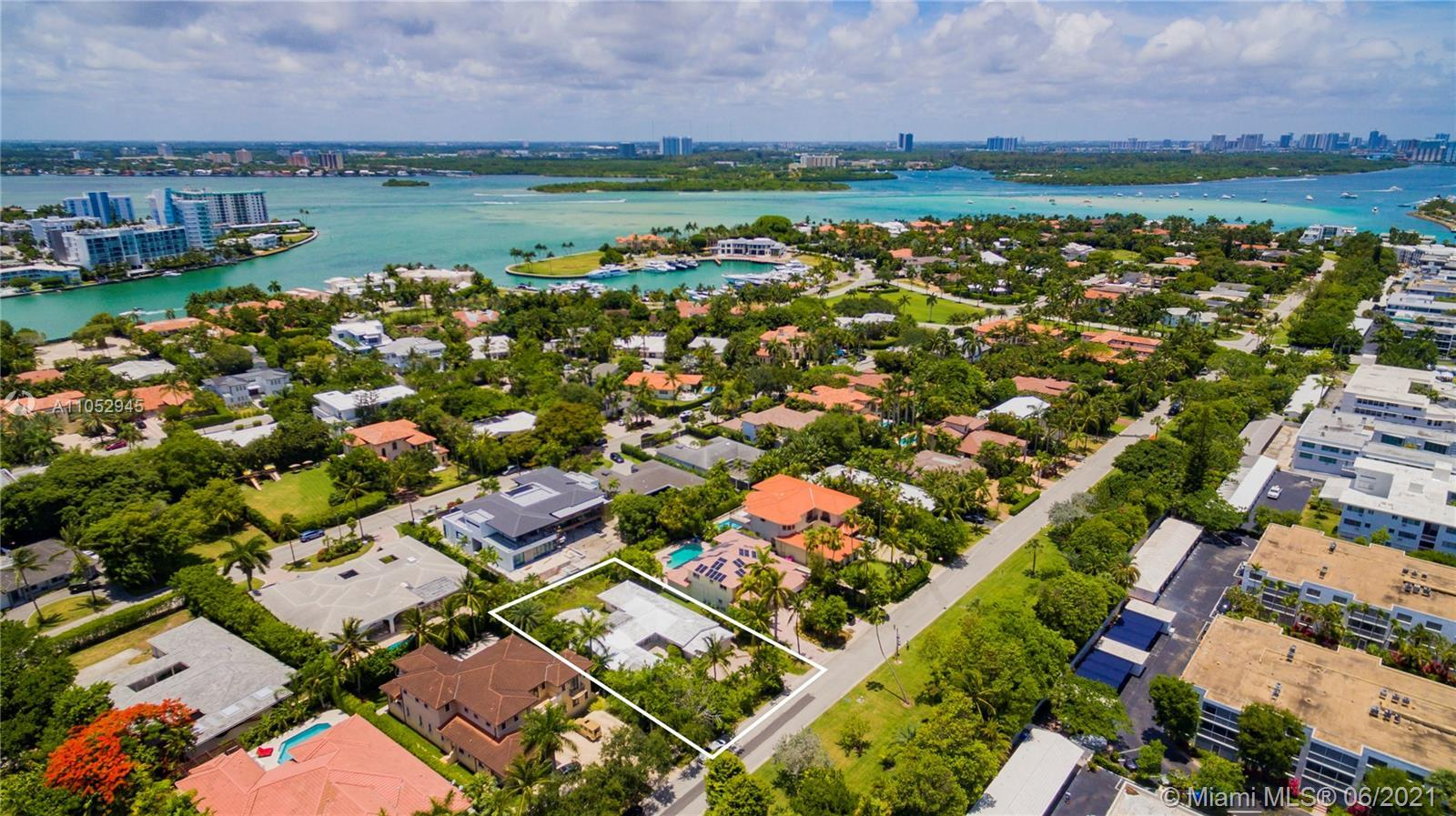 Rare opportunity to build or renovate your dream home in one of South Florida's most exclusive gated