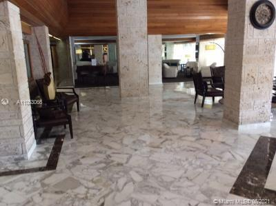 there is  corner unit  2 bedroom  2 bath condo in the heart of sunny isles beach Florida , good view
