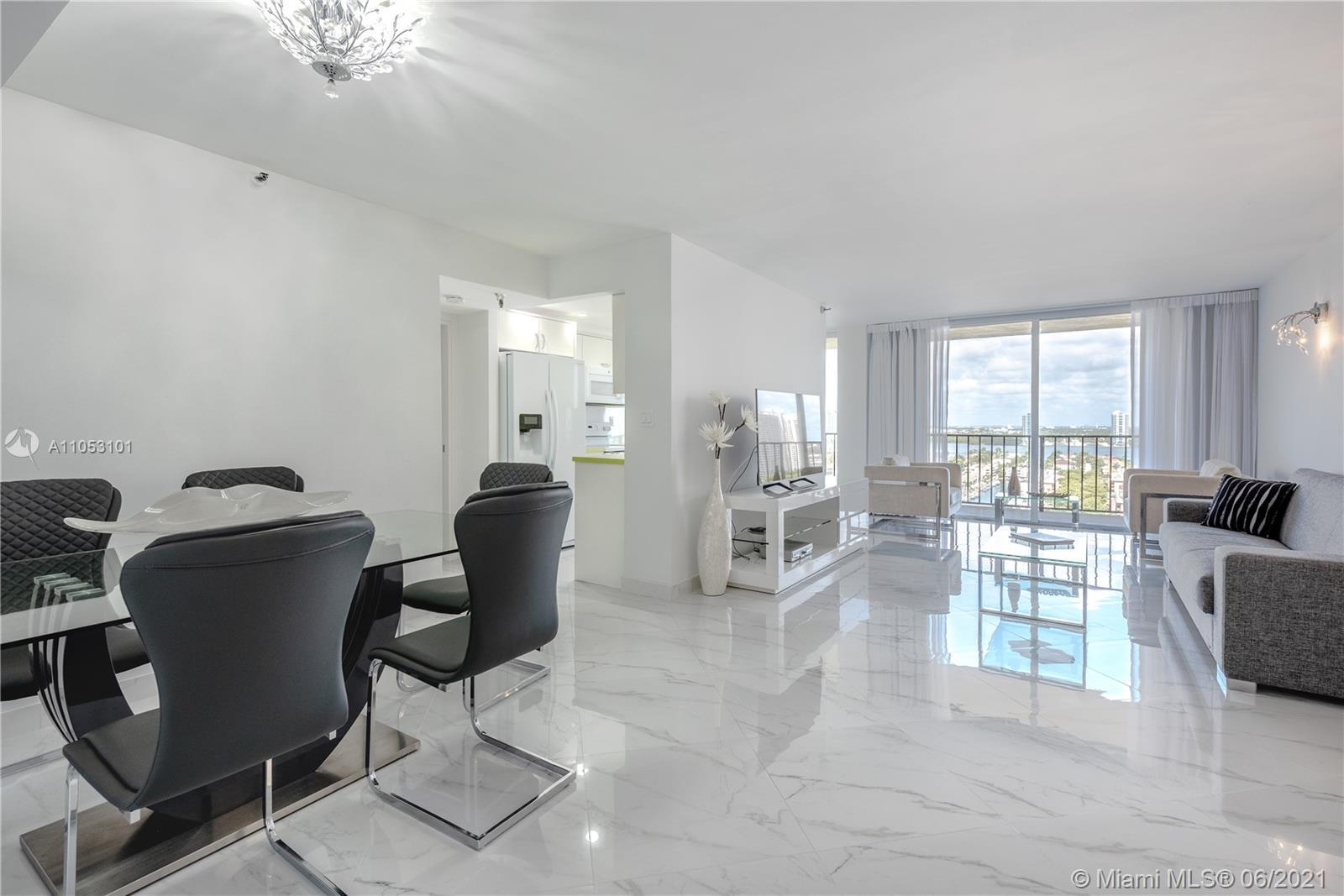 Spacious completely renovated 2Bed/2Bath unit with beautiful Intracoastal waterway views. Enjoy boat