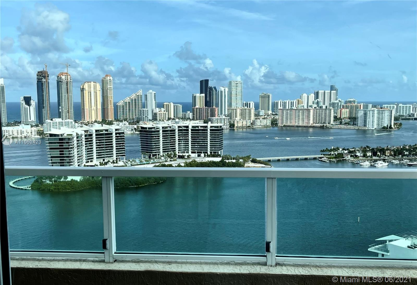 JUST FULLY REMODELED DESIGN TURNKEY UPPER PENTHOUSE LOCATED IN THE HEART OF AVENTURA! THIS LARGE 3 B