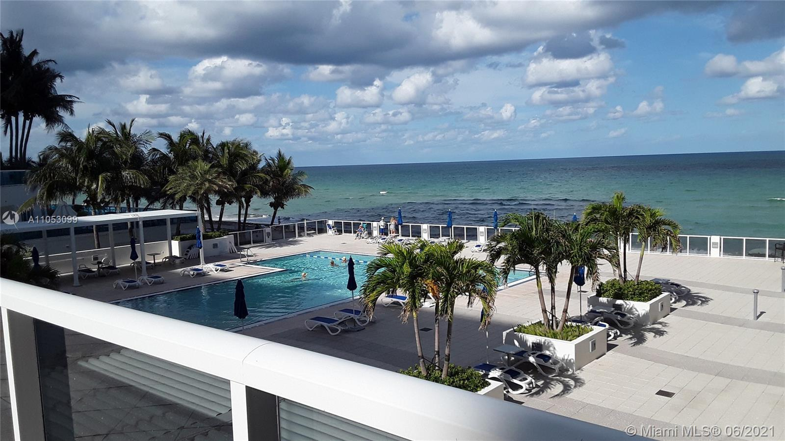 Ocean views! Completely Remodeled 2/2, Marble Floors, Gorgeous Eat-In Kitchen, Granite, Wood, Stainl