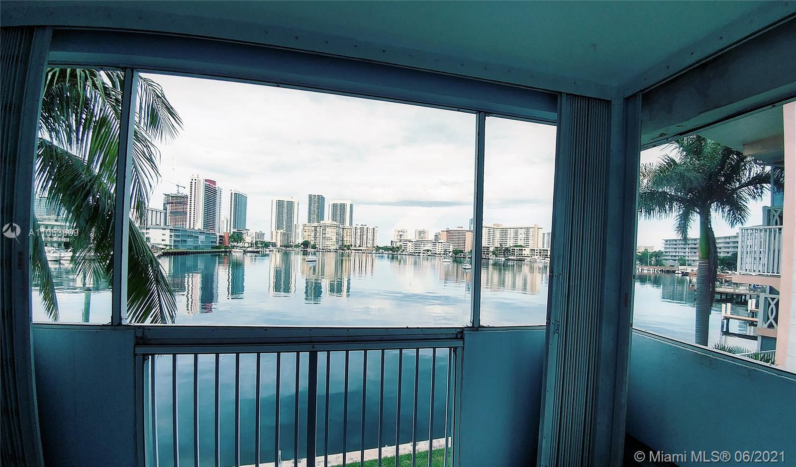INVESTORS DREAM! Amazing intracoastal water view!! Perfect condition, new modern open kitchen, tile